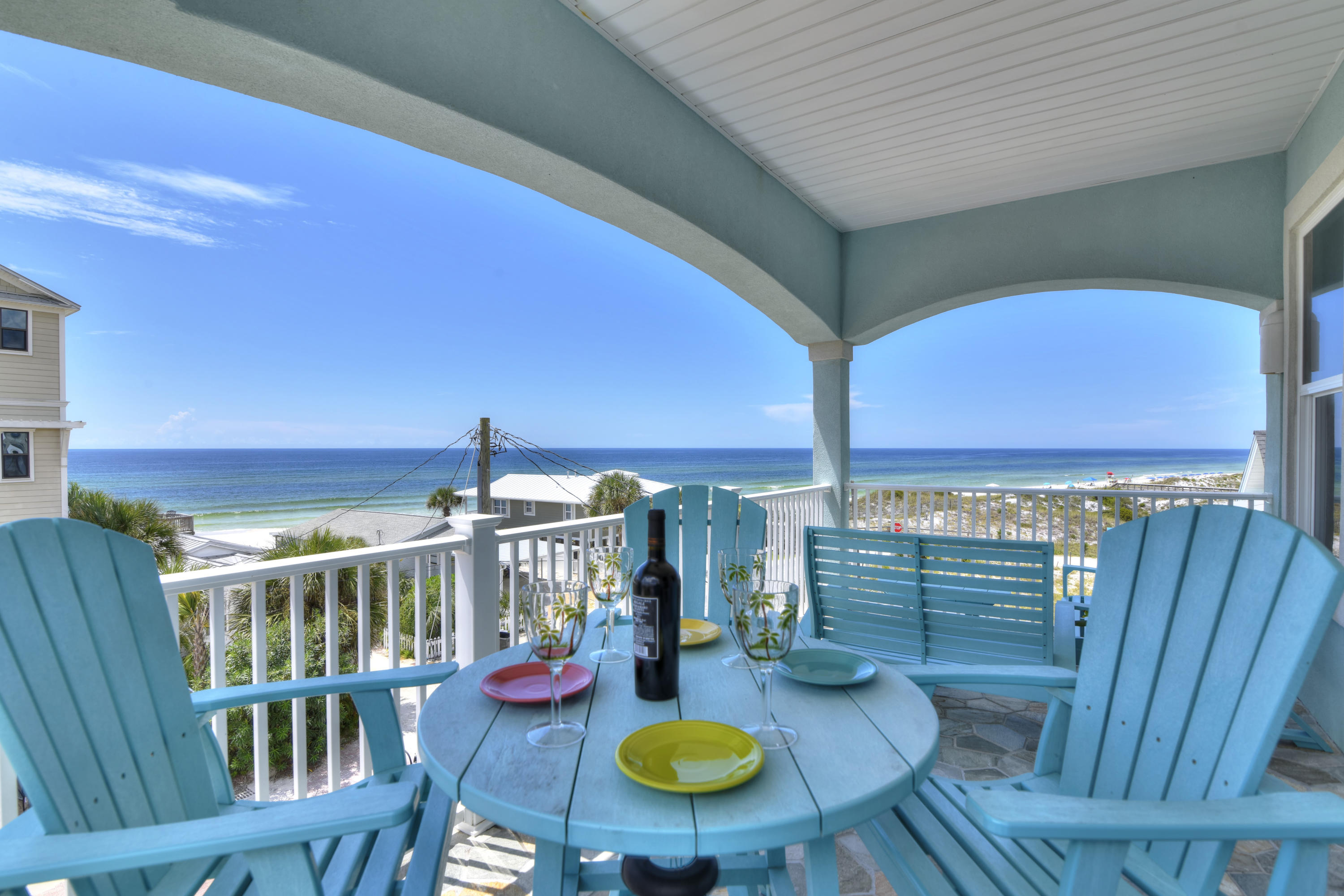 Photo of home for sale at 93 Emerald Cove, Inlet Beach FL