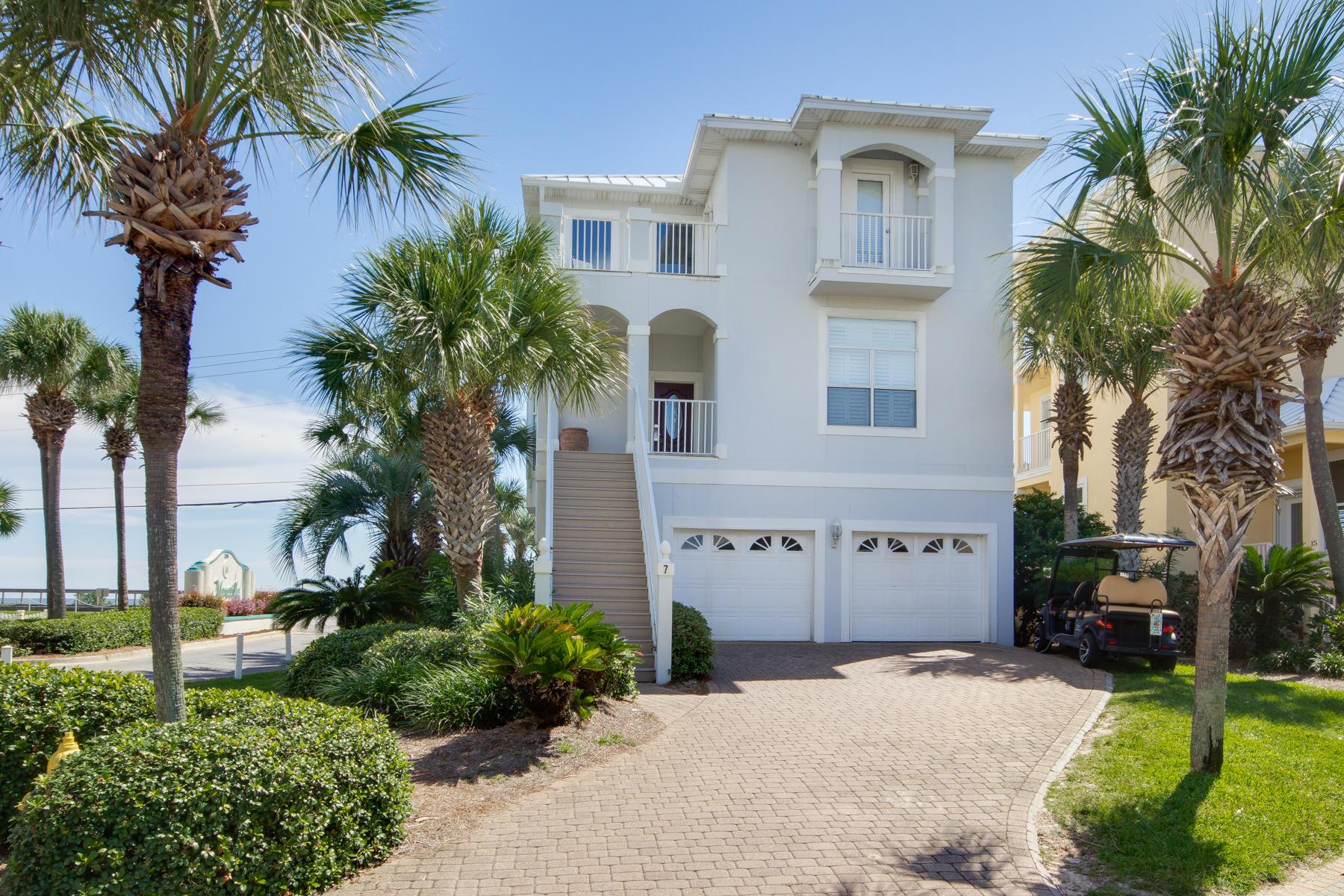 Photo of home for sale at 7 St Martin, Miramar Beach FL