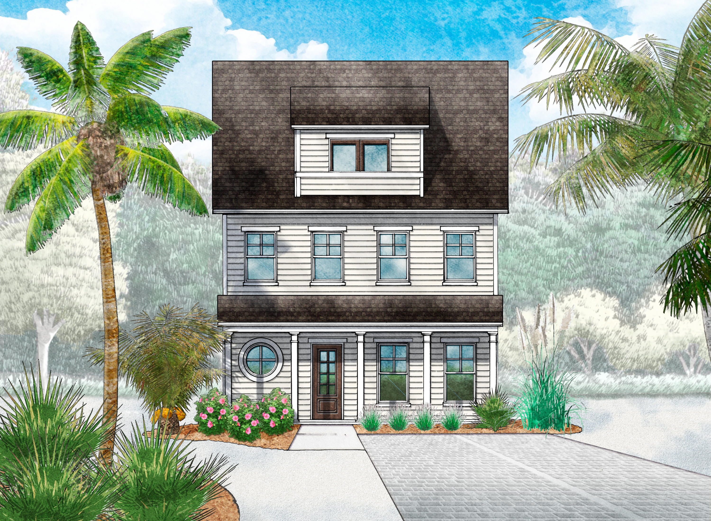 Photo of home for sale at Lot 26 Valerie Way, Inlet Beach FL