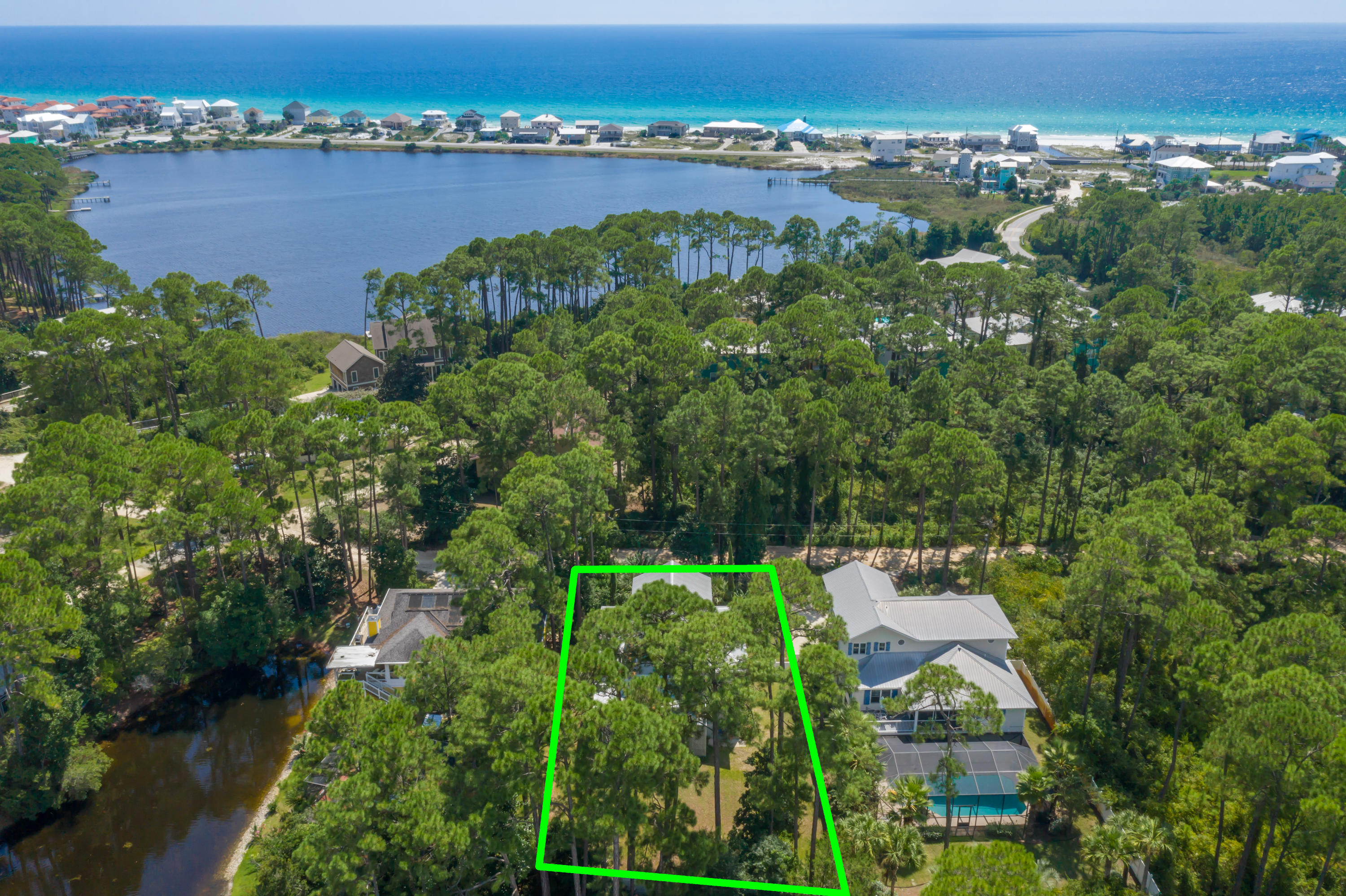 Photo of home for sale at 152 Oyster Lake, Santa Rosa Beach FL