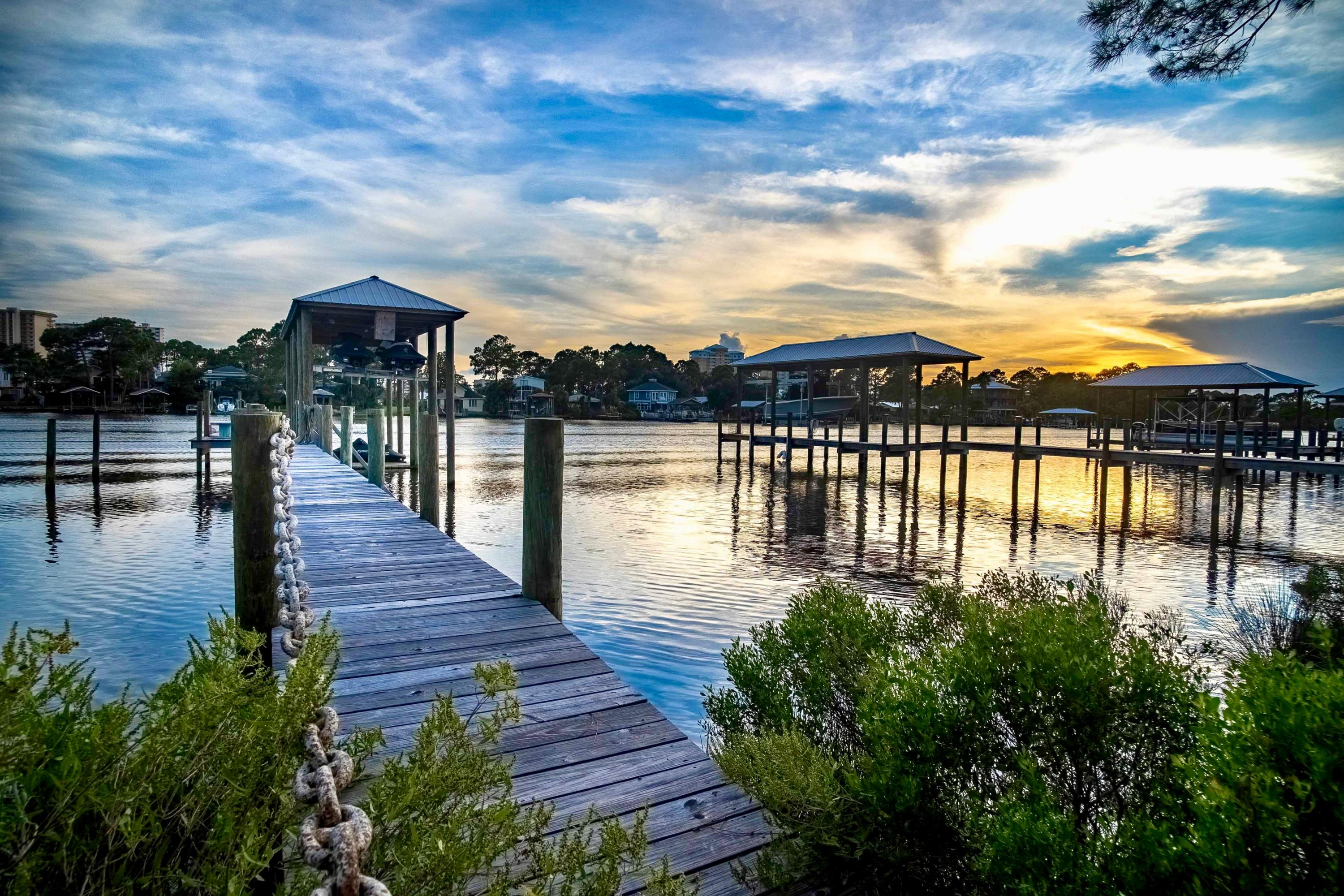 Photo of home for sale at Lot 7 Lagoon, Panama City Beach FL