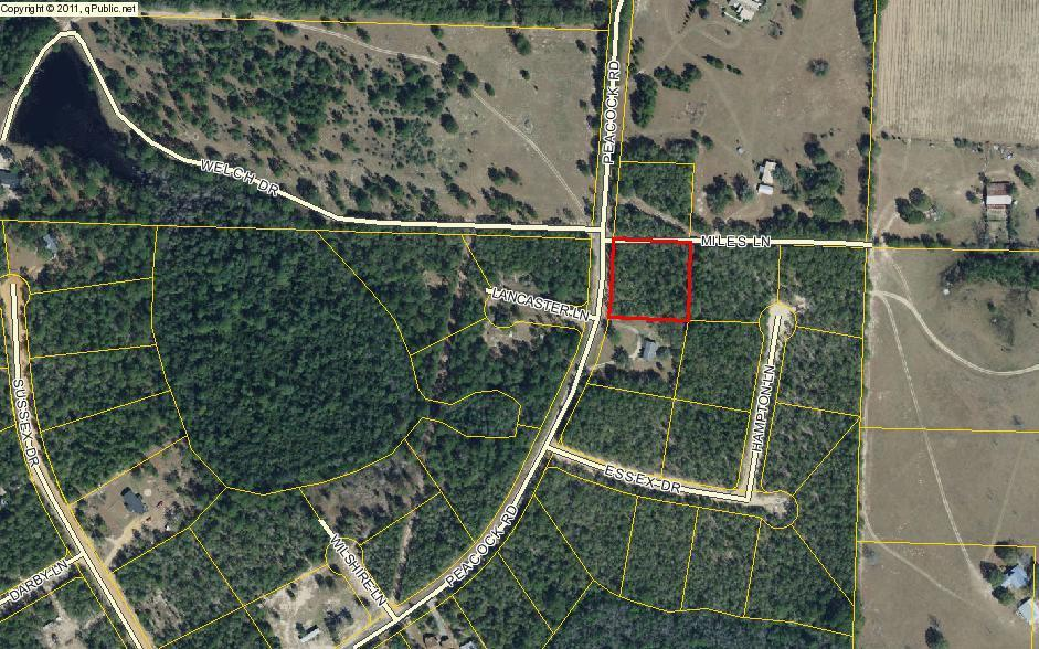 Photo of home for sale at 1ac. Peacock, Defuniak Springs FL