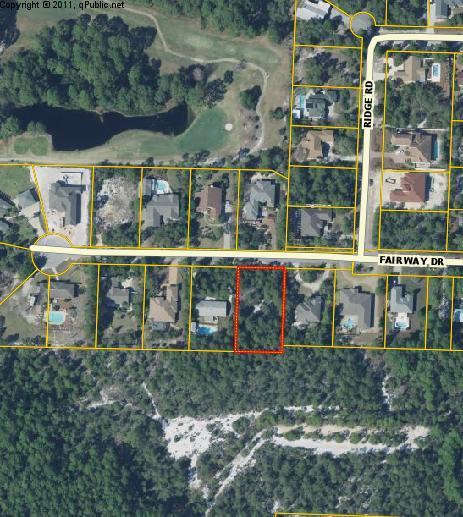 Photo of home for sale at Lot 13 Fairway, Santa Rosa Beach FL