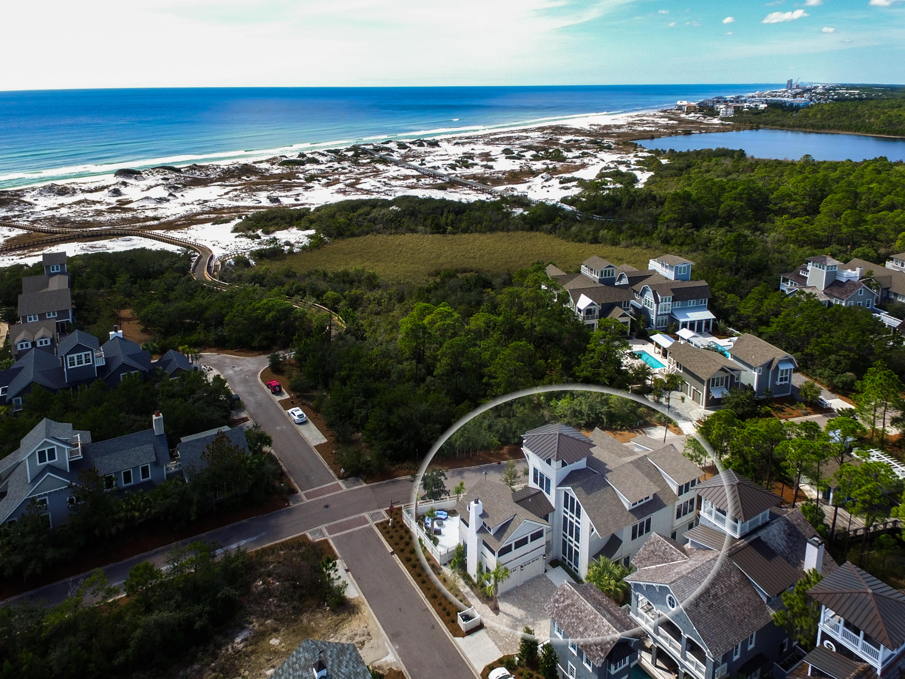 Photo of home for sale at 60 Shingle, Inlet Beach FL