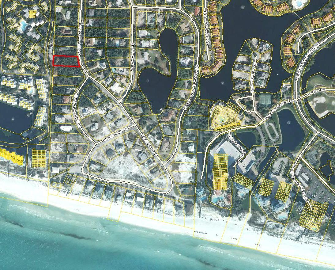 Photo of home for sale at LOT 13 Overlook, Miramar Beach FL