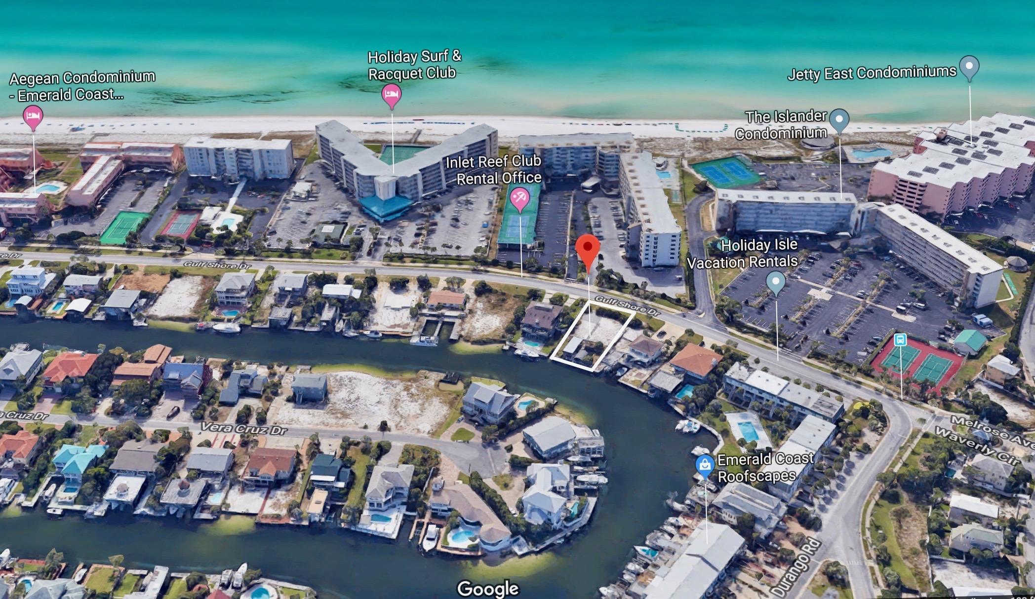 Photo of home for sale at 509B Gulf Shore, Destin FL