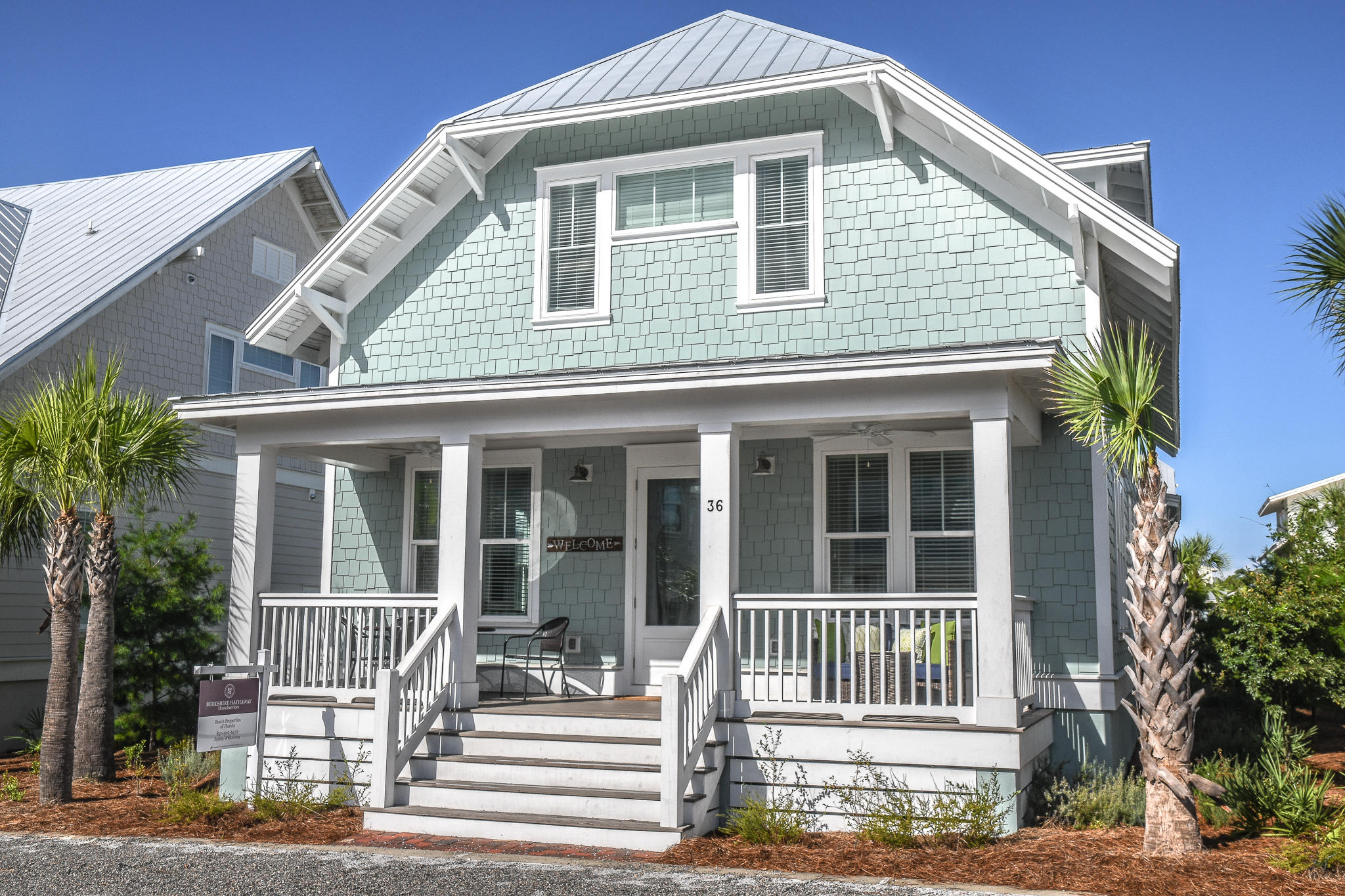 Photo of home for sale at 36 Federal Street, Inlet Beach FL