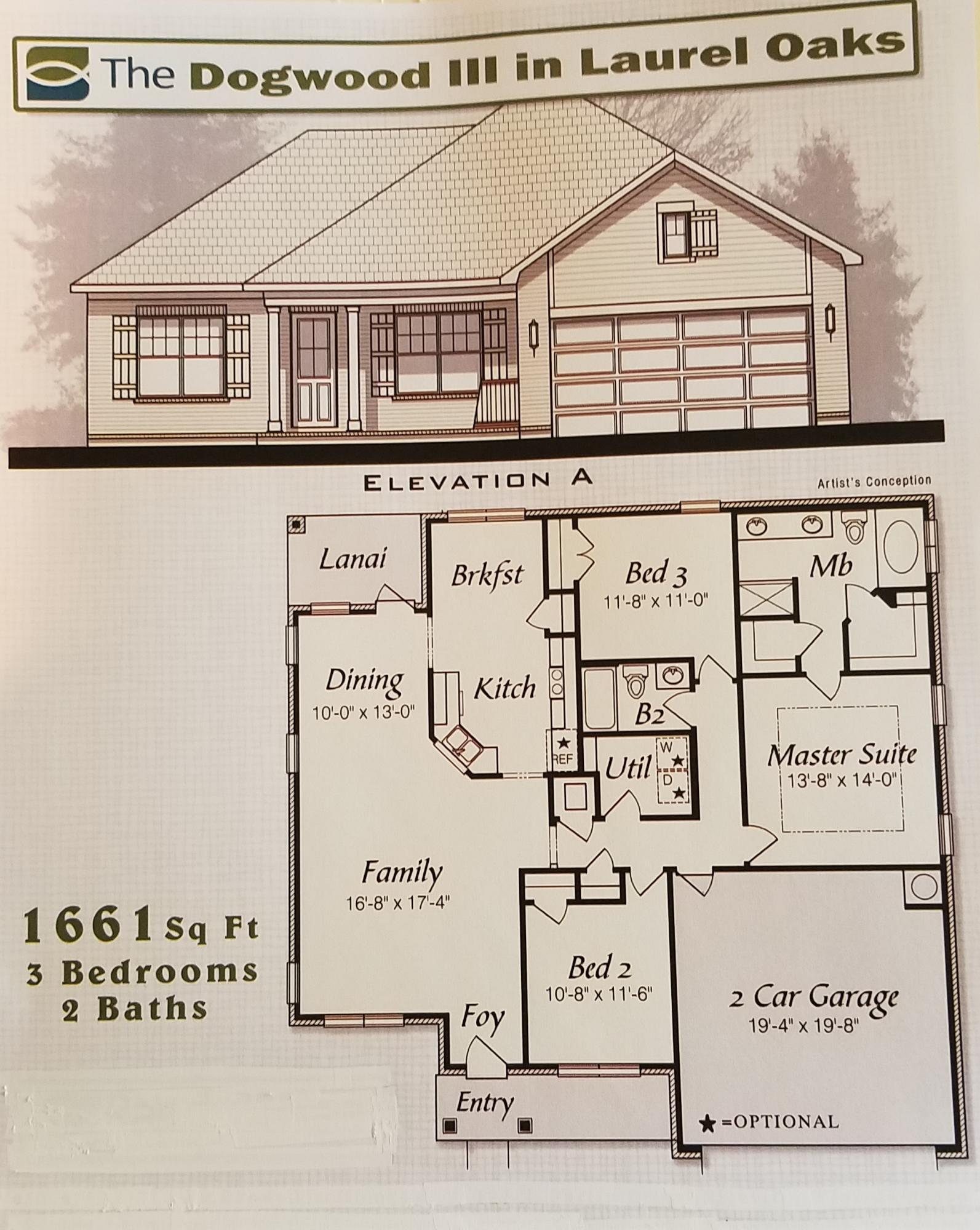 Photo of home for sale at Lot 5 Laurel Oaks Dr, Freeport FL
