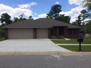 Photo of home for sale at 5753 Marigold, Crestview FL