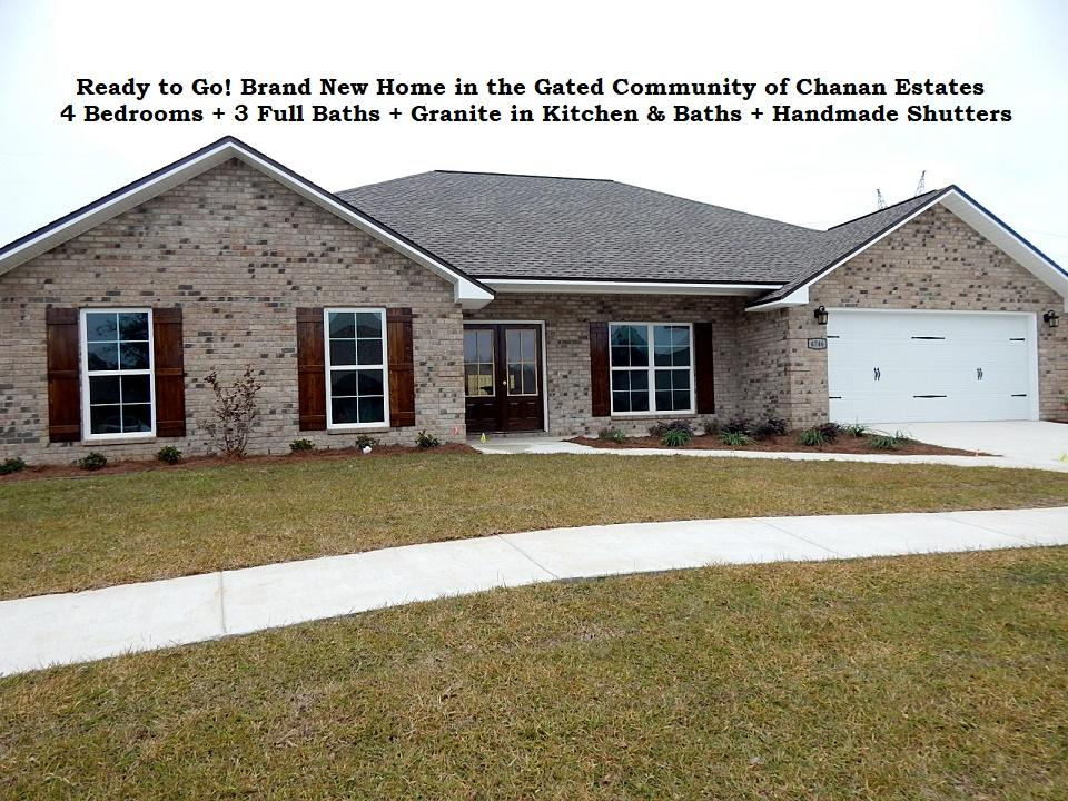Photo of home for sale at 4746 Chanson, Crestview FL