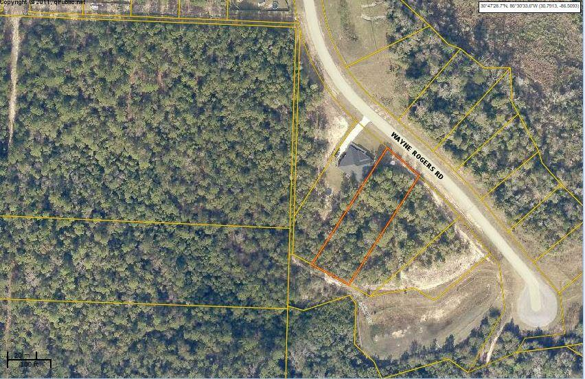 Photo of home for sale at Lot E3 Wayne Rogers, Crestview FL