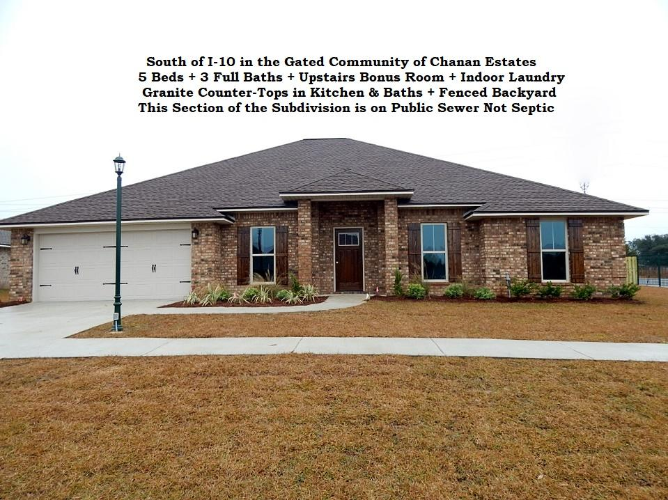 Photo of home for sale at 4748 Chanson, Crestview FL