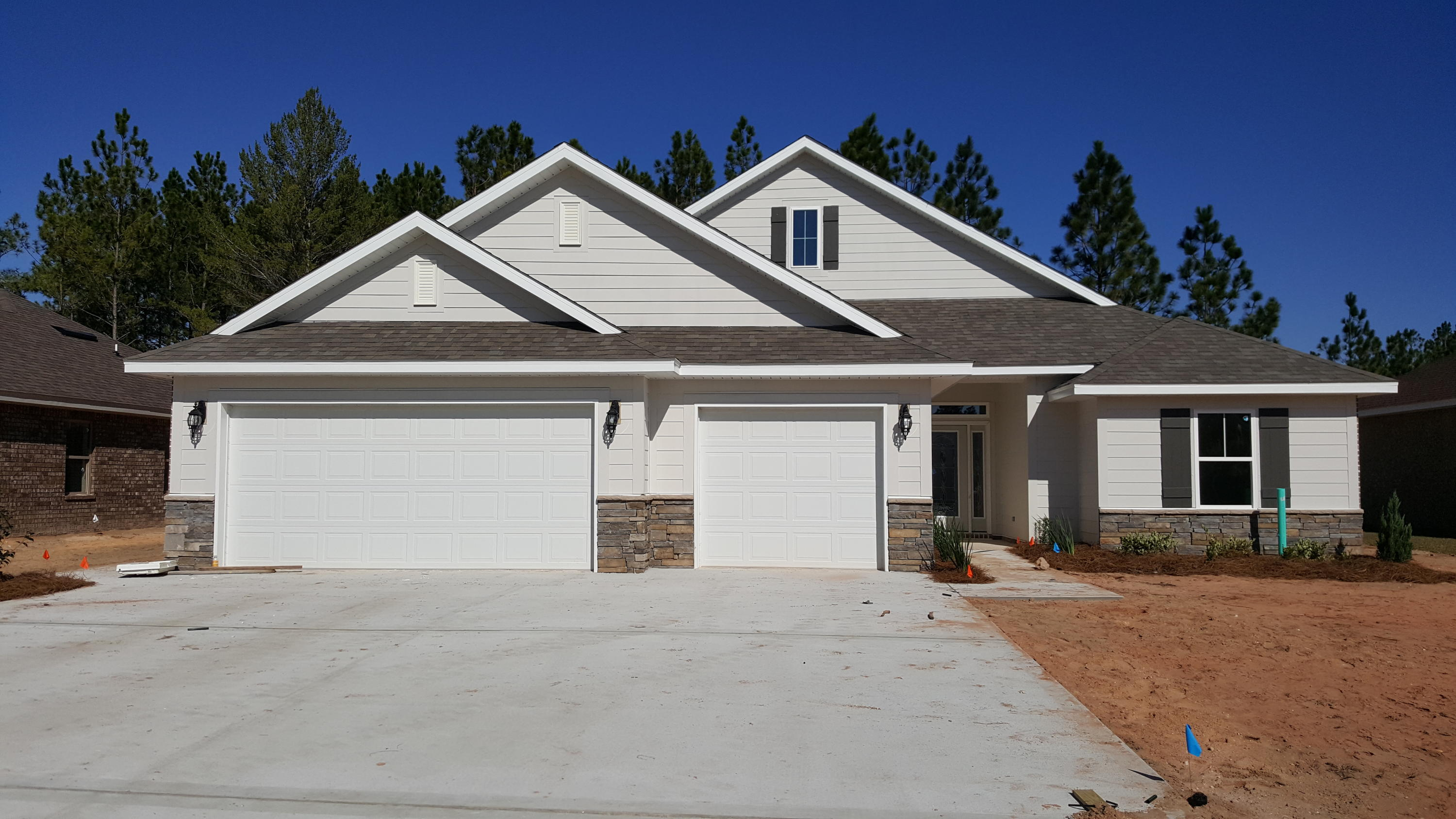 Photo of home for sale at 7980 Majestic Cypress Dr, Milton FL