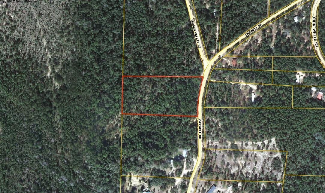 Photo of home for sale at 4 +/- Acre Caswell Drive, Defuniak Springs FL