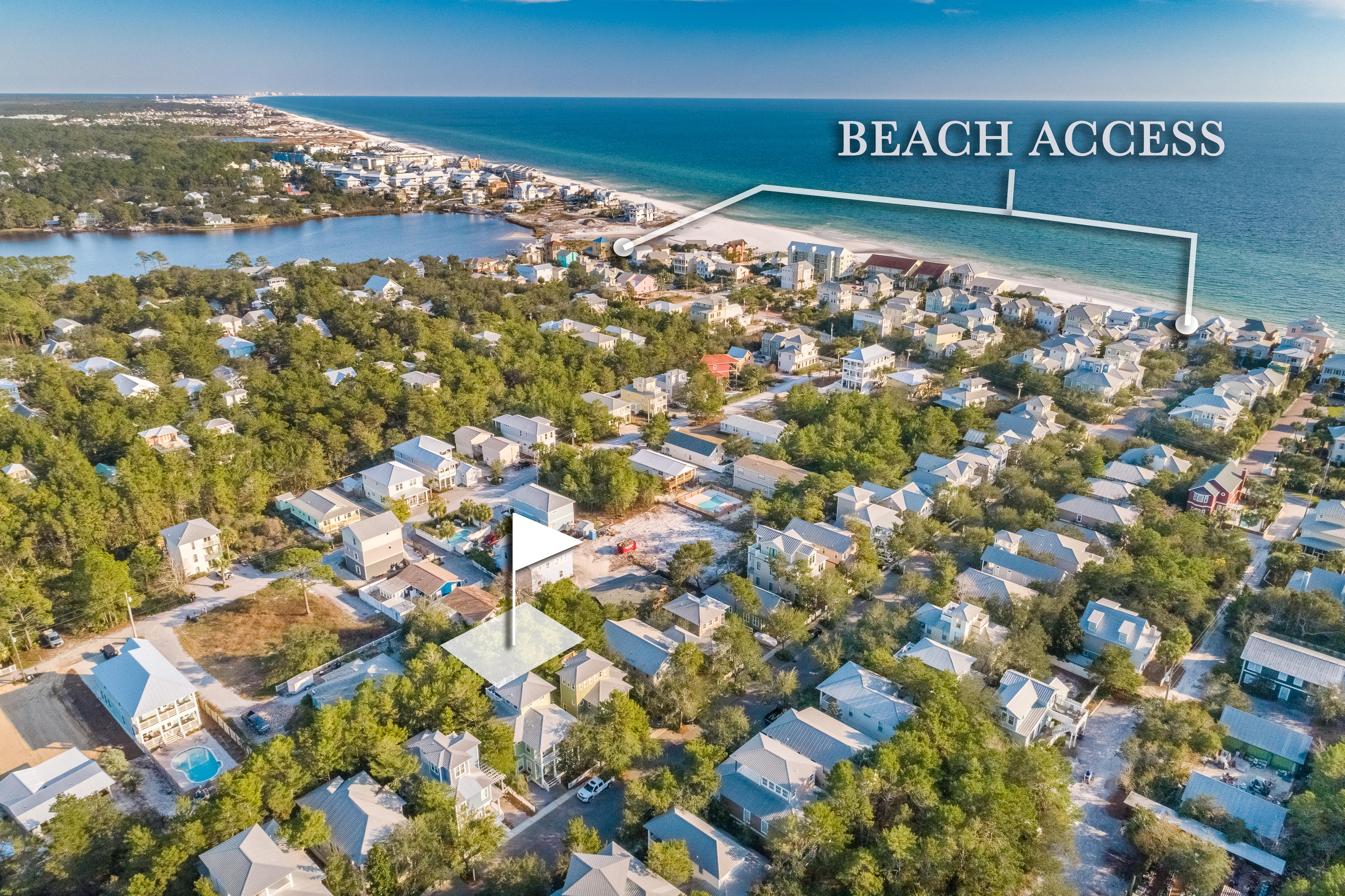 Photo of home for sale at Lot 1 Brown, Santa Rosa Beach FL