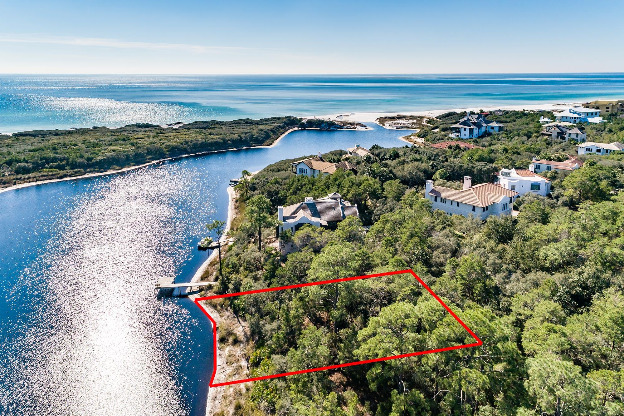 Photo of home for sale at LOT 3 Redfish, Santa Rosa Beach FL