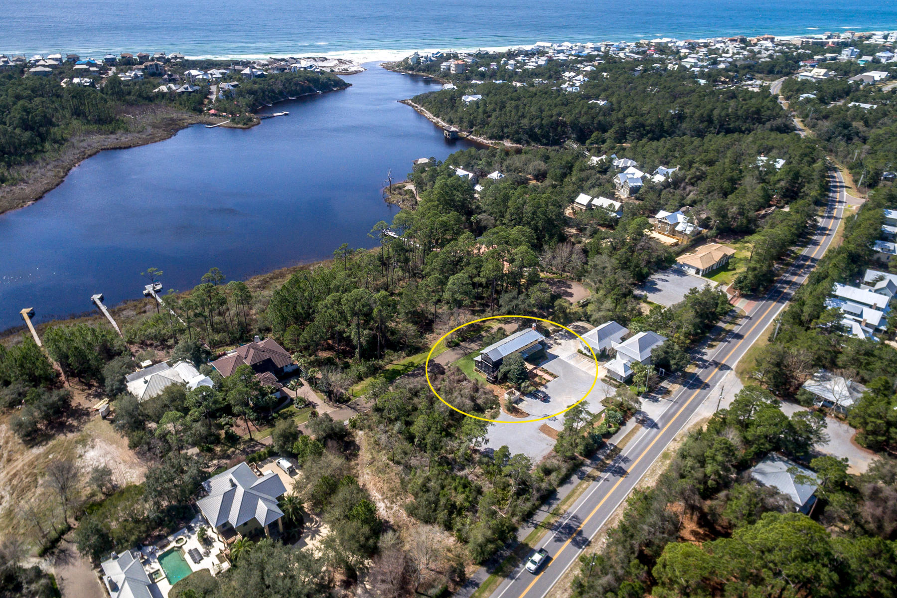 Photo of home for sale at 3295 Co Highway 30-A, Santa Rosa Beach FL