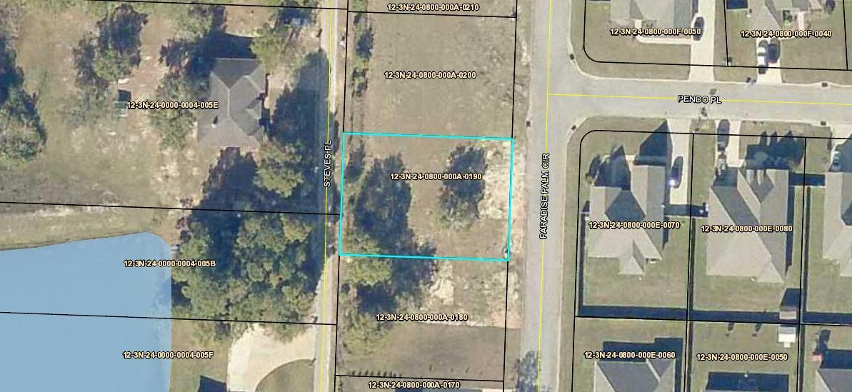 Photo of home for sale at LOT 19 Paradise Palm, Crestview FL