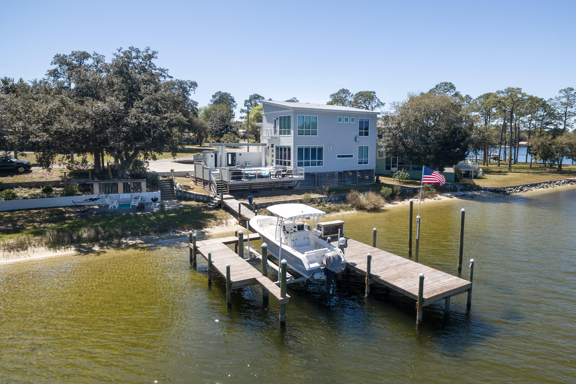 250 S Bayshore Drive, Valparaiso, Florida 3 Bedroom as one of Homes & Land Real Estate