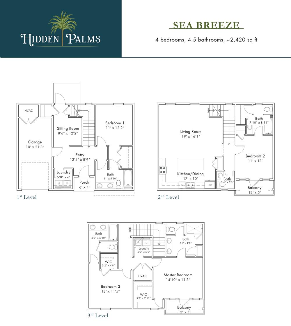 Photo of home for sale at Lot 4A Ciboney, Miramar Beach FL