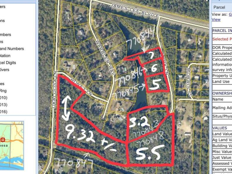 Photo of home for sale at Lot 6 Lark, Crestview FL