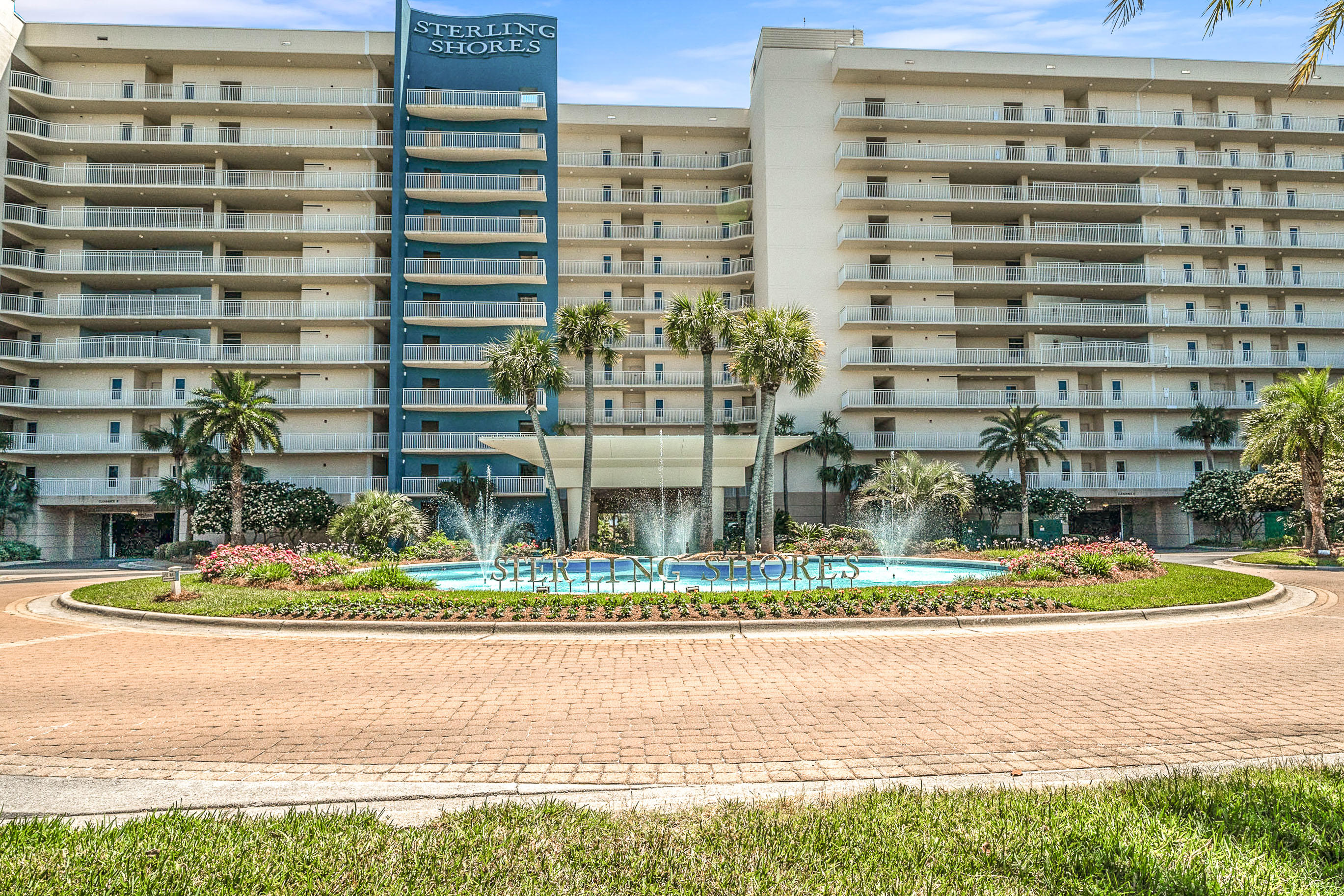 This condo is HUGE, over 1200 sf, freshly painted, and well appointed. You will enjoy the view overlooking the gorgeous pool and easy stroll to the beach.  This unit has beautiful white cabinets throughout, neutral tile flooring, and the master bedroom has a view of the Gulf. There are two bathrooms, one off the hall where the second bedroom is located and the other is an en suite in the master bedroom. The master en suite features a walk in shower and tub. This condo is located near restaurant row, and onsite you will be pleasantly surprised to have fine amenities such as: Beach side pool with bar and grill, Lagoon style pool, 42 seat surround sound meeting room/space, Mushroom fountain little's play area, large workout facility and