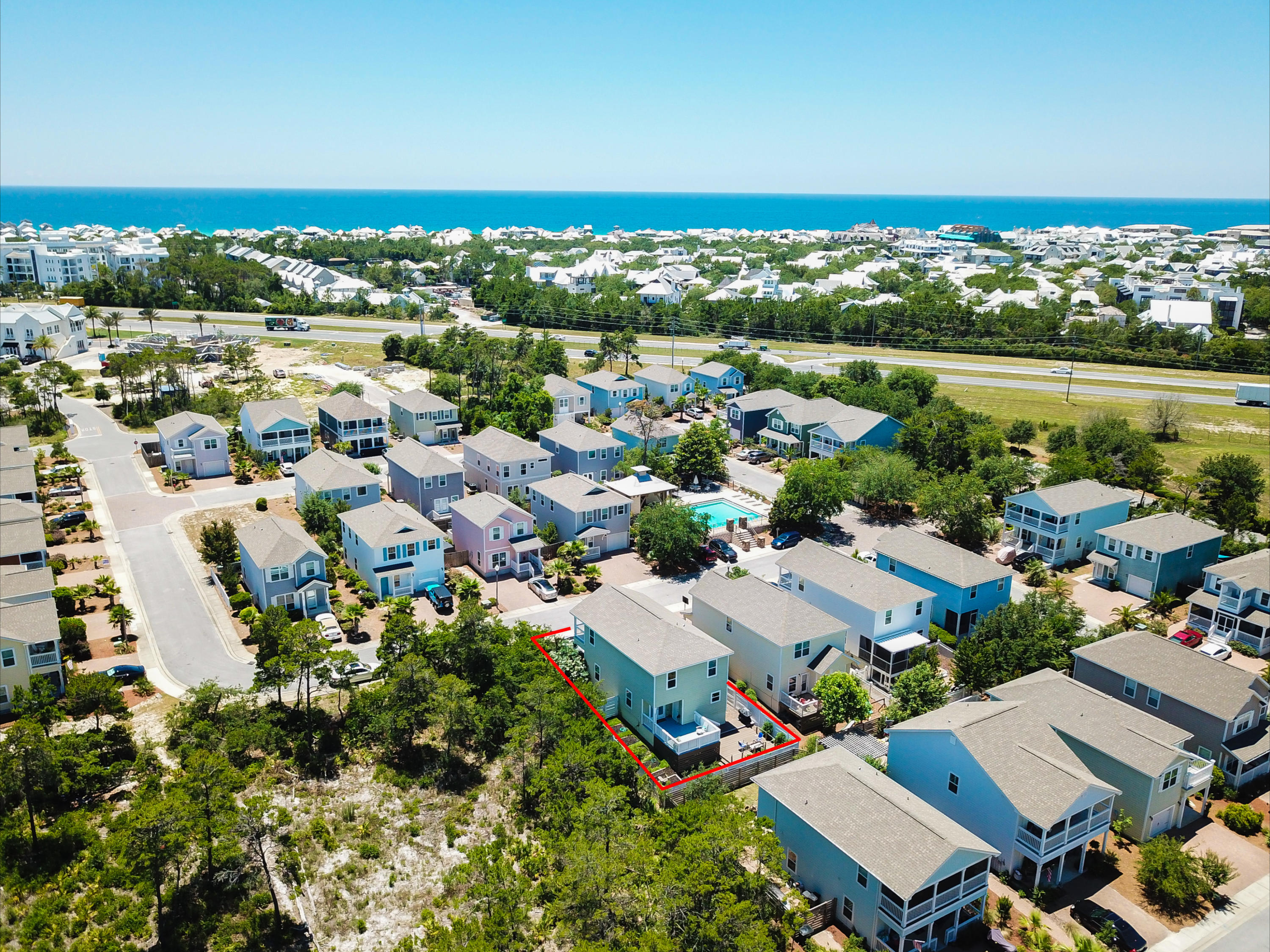 MLS Property 821425 for sale in Rosemary Beach