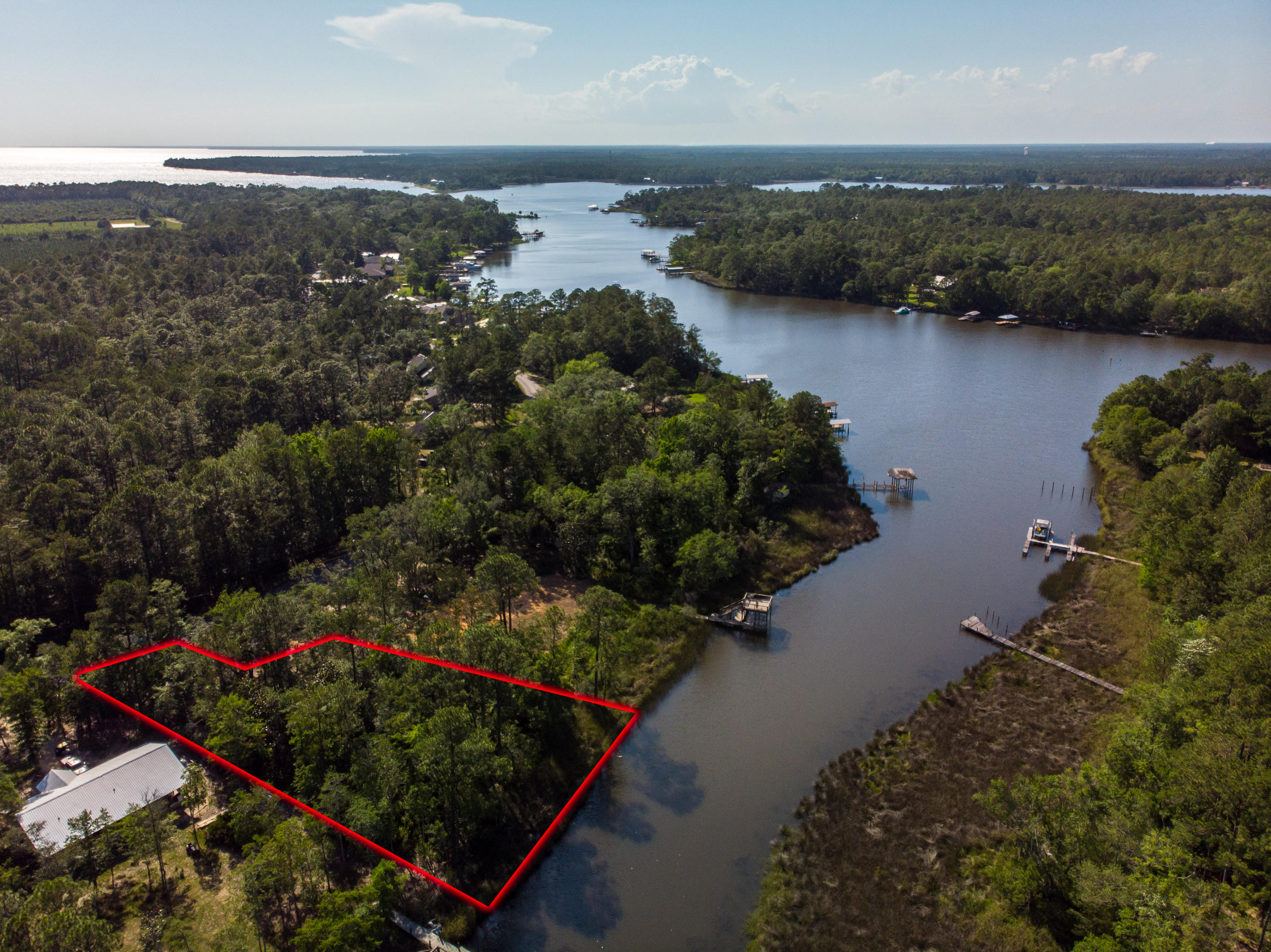 Photo of home for sale at Lot 2 Bay Grove, Freeport FL