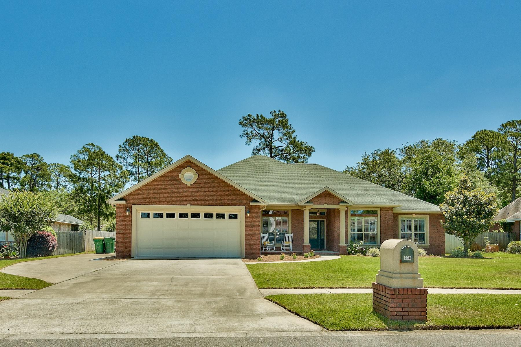 738  Persimmon Way, Niceville in Okaloosa County, FL 32578 Home for Sale