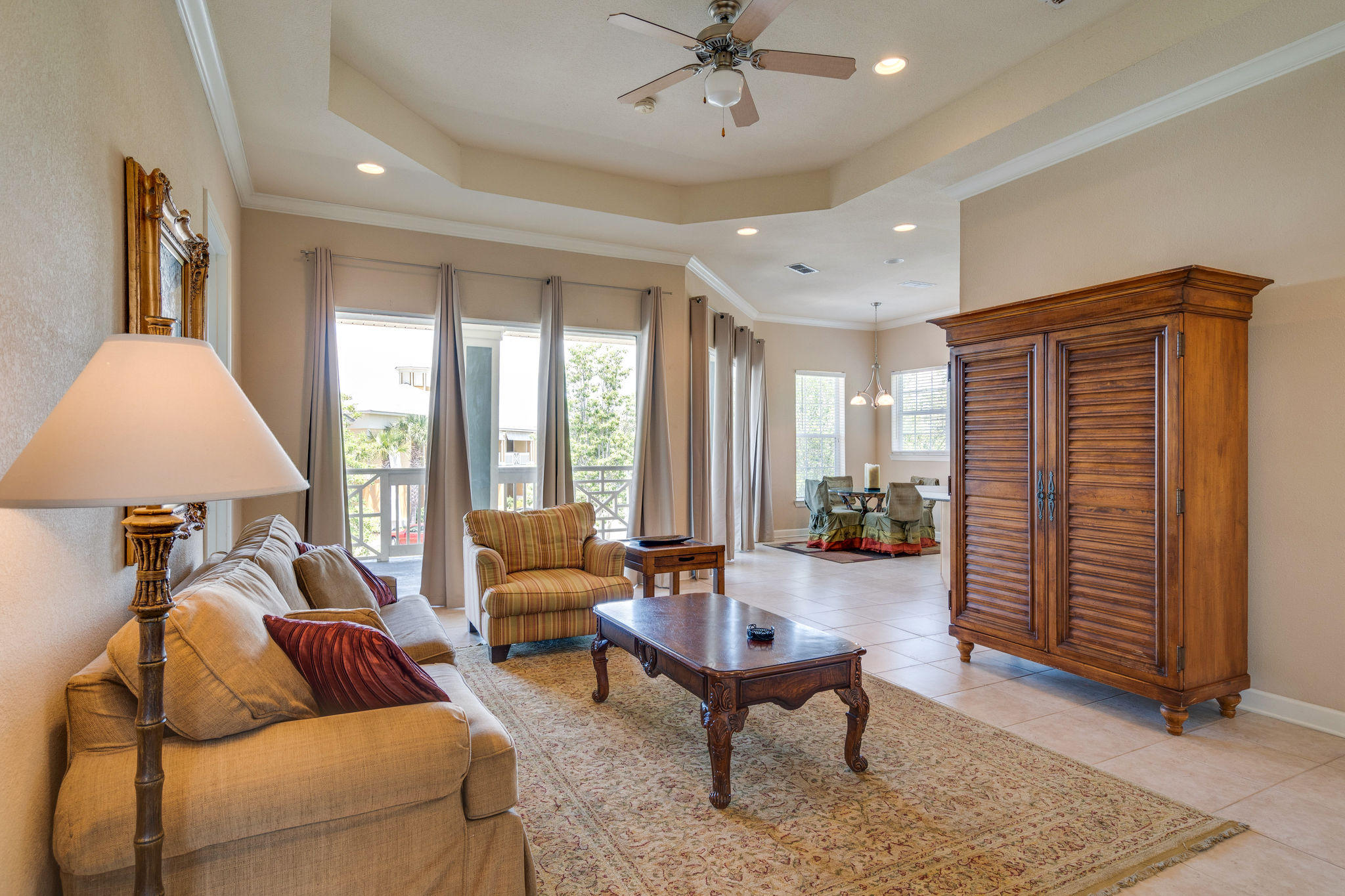 Photo of home for sale at 2325 Crystal Cove, Miramar Beach FL