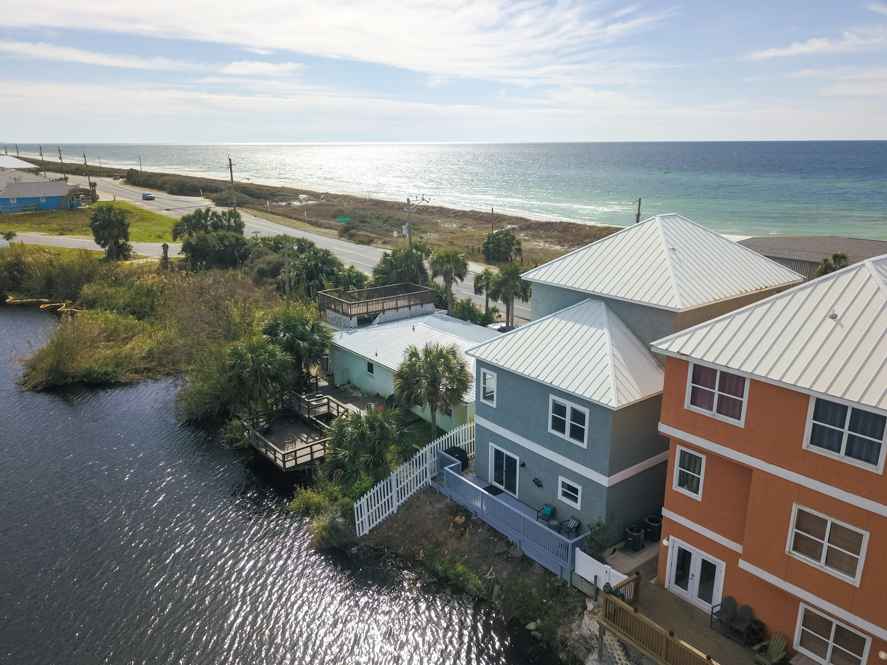 Photo of home for sale at 21504 Front Beach Road, Panama City Beach FL
