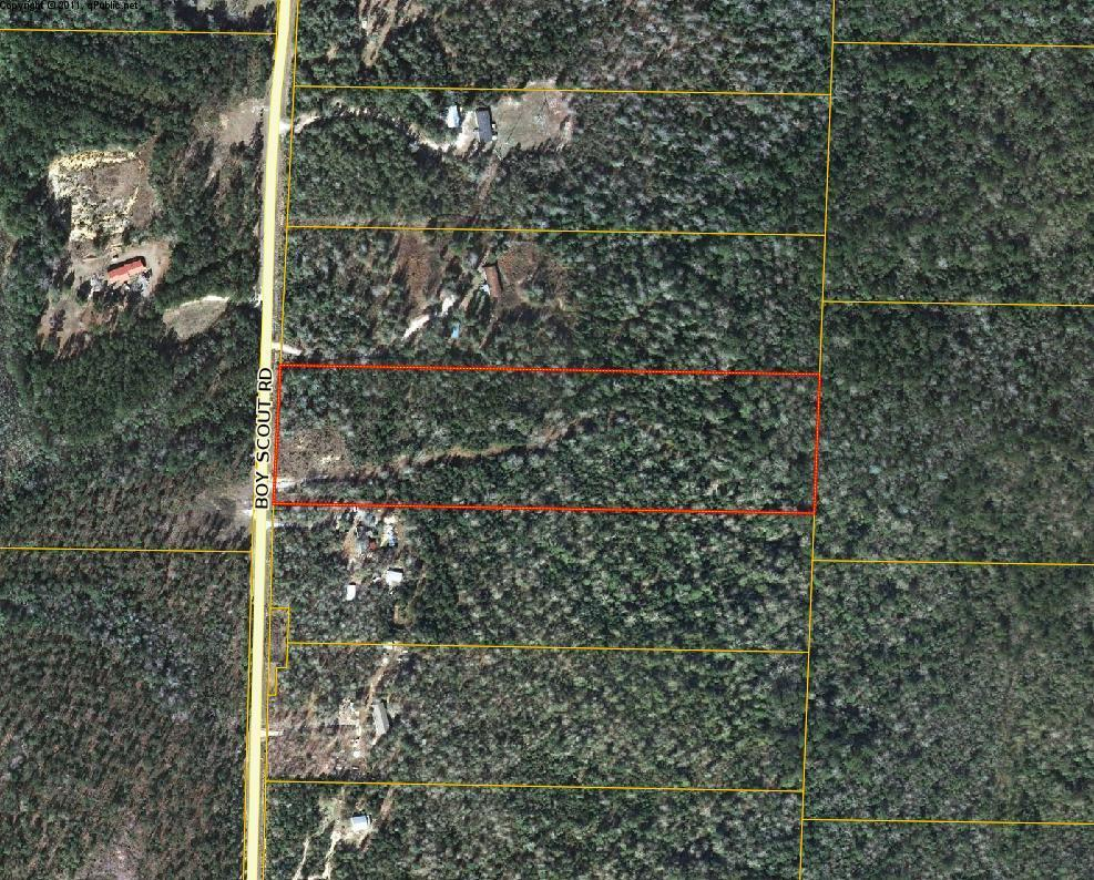 Photo of home for sale at 10 Acres Boy Scout, Defuniak Springs FL