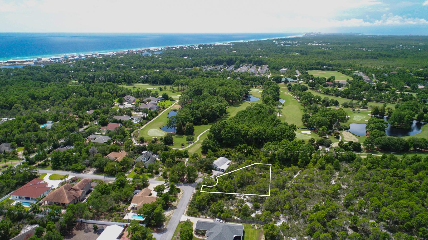Photo of home for sale at Lot 11 Lot 11 Blk B Ridge Rd, Santa Rosa Beach FL