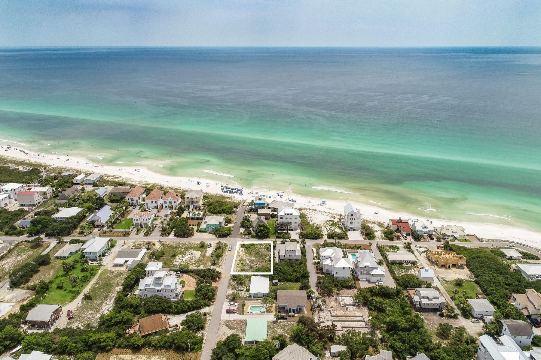 Photo of home for sale at Lot 137 Pompano, Inlet Beach FL