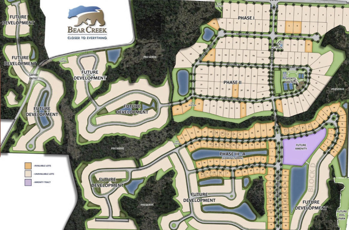 Photo of home for sale at LOT 25 Grizzly, Freeport FL