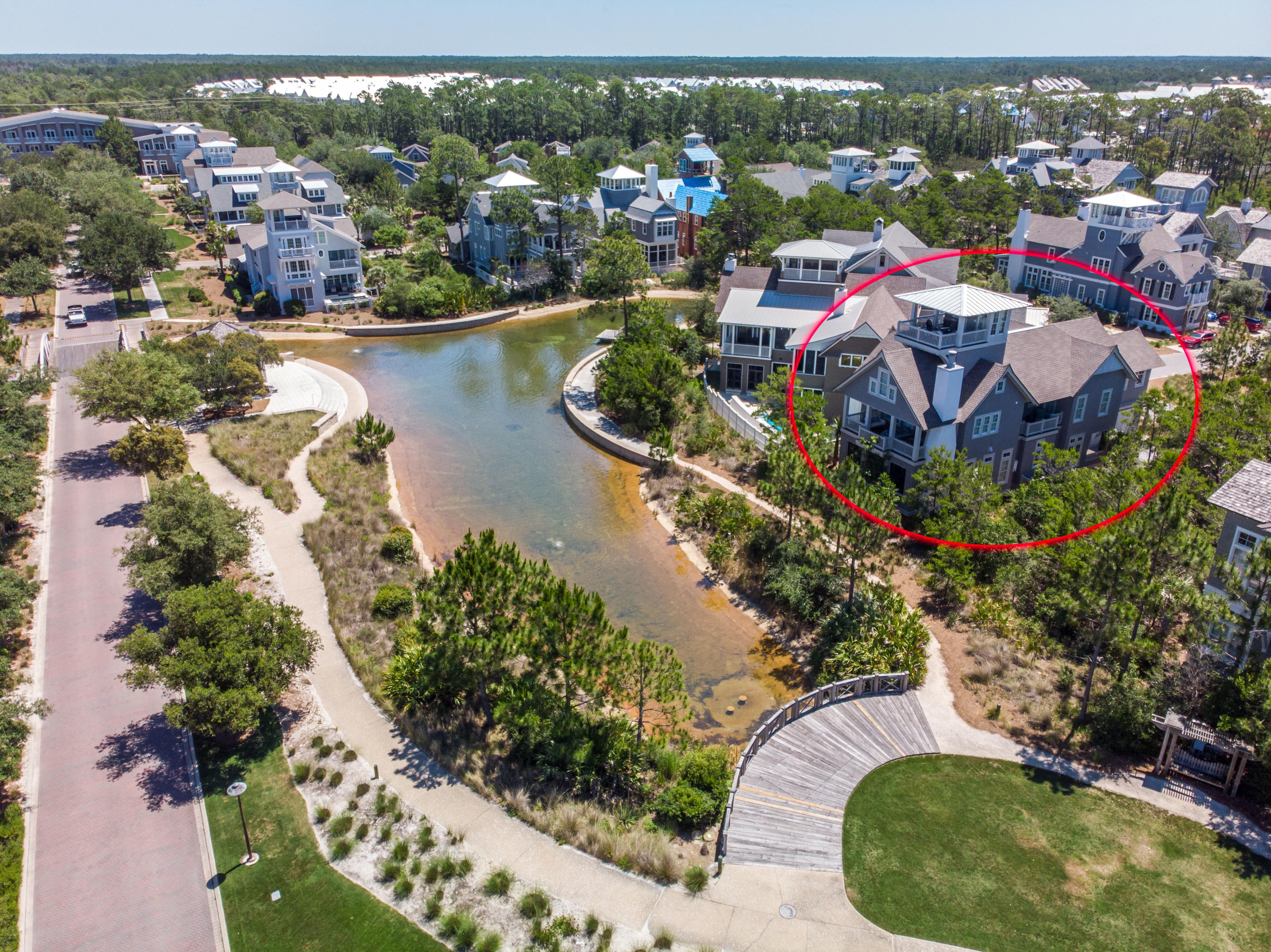 Photo of home for sale at 41 Compass Point, Watersound FL