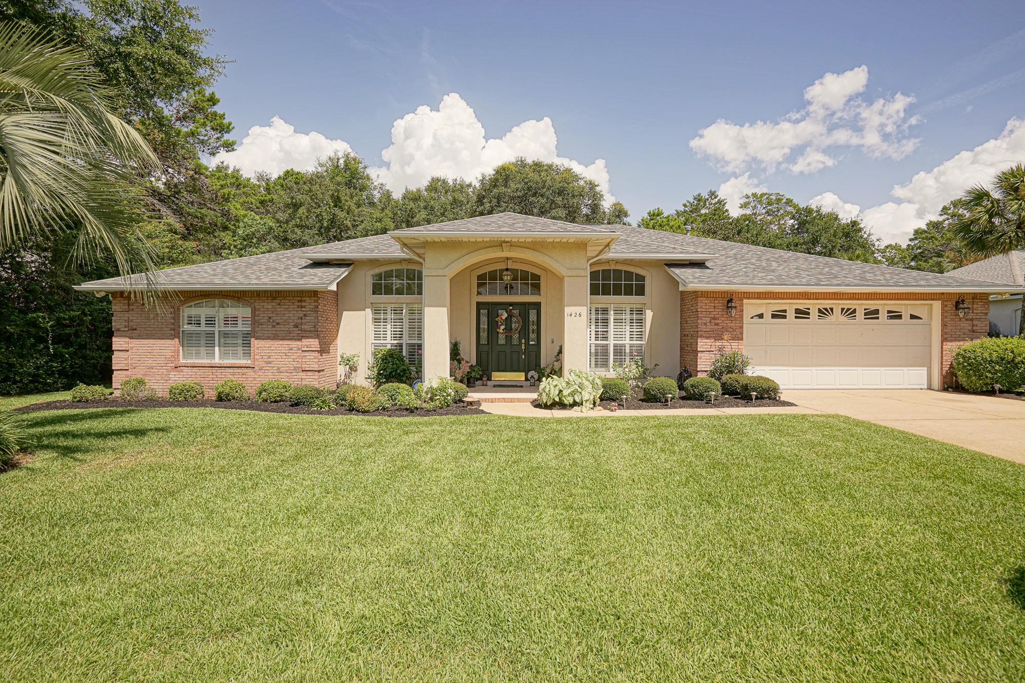 1426  William Faulkner Drive, Niceville in Okaloosa County, FL 32578 Home for Sale