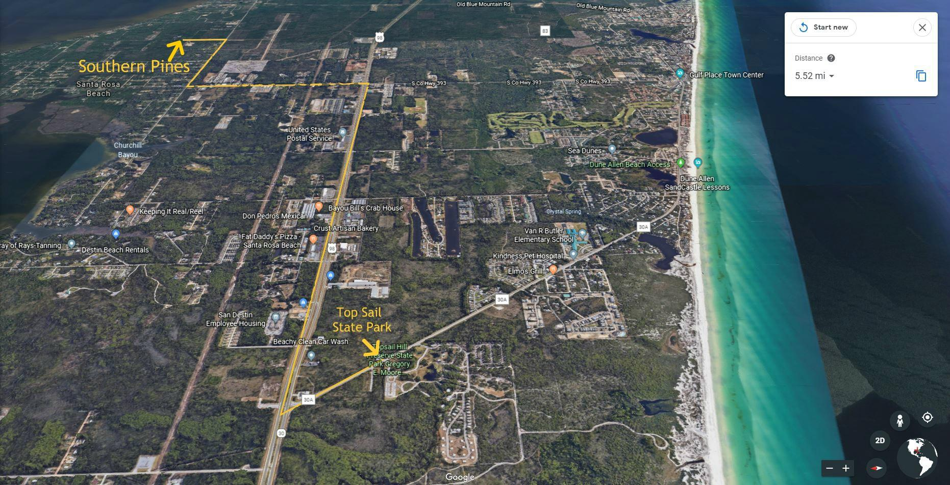 Photo of home for sale at 214 Southern Pines, Santa Rosa Beach FL