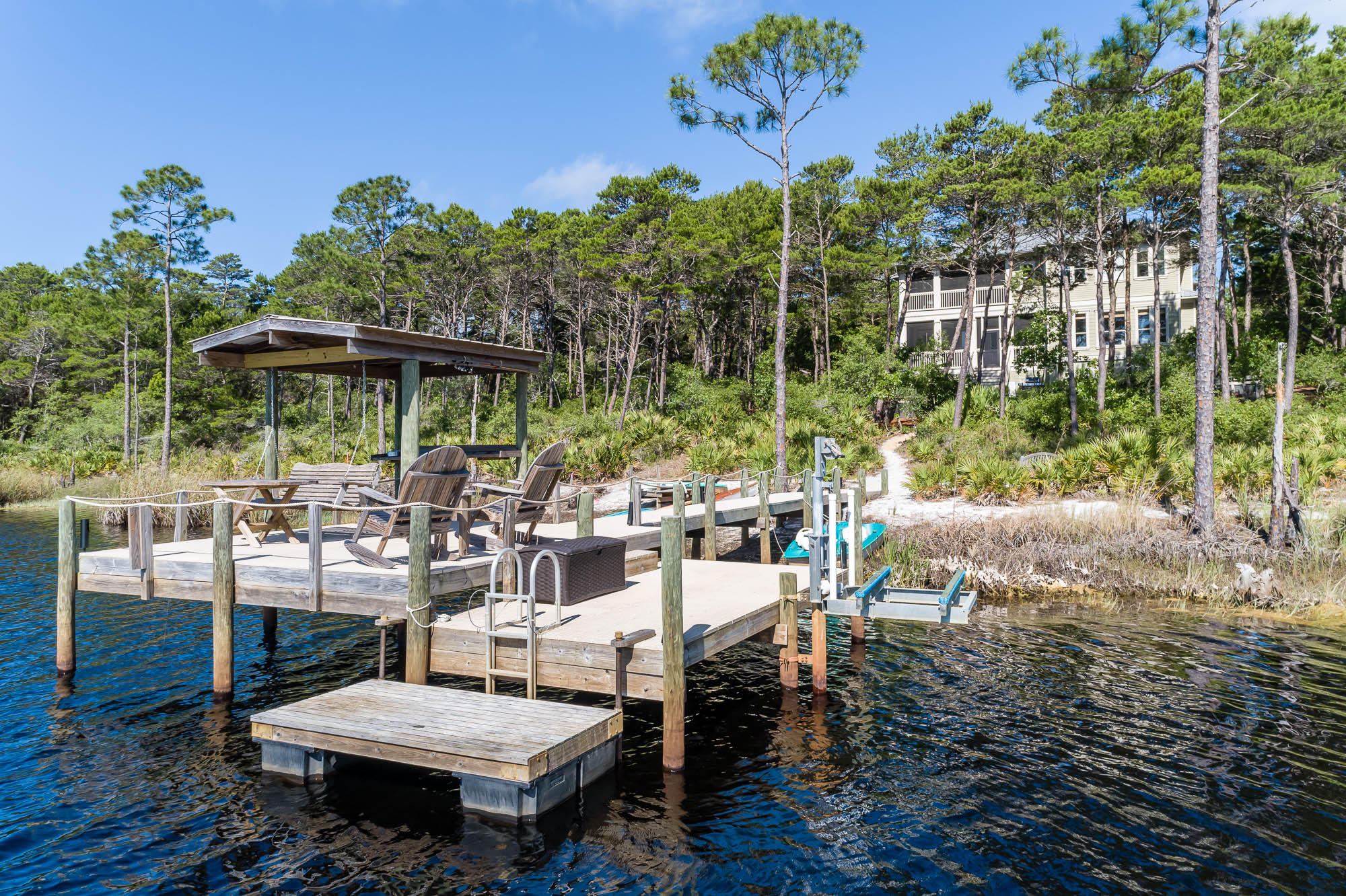 Photo of home for sale at 100 Chance, Inlet Beach FL