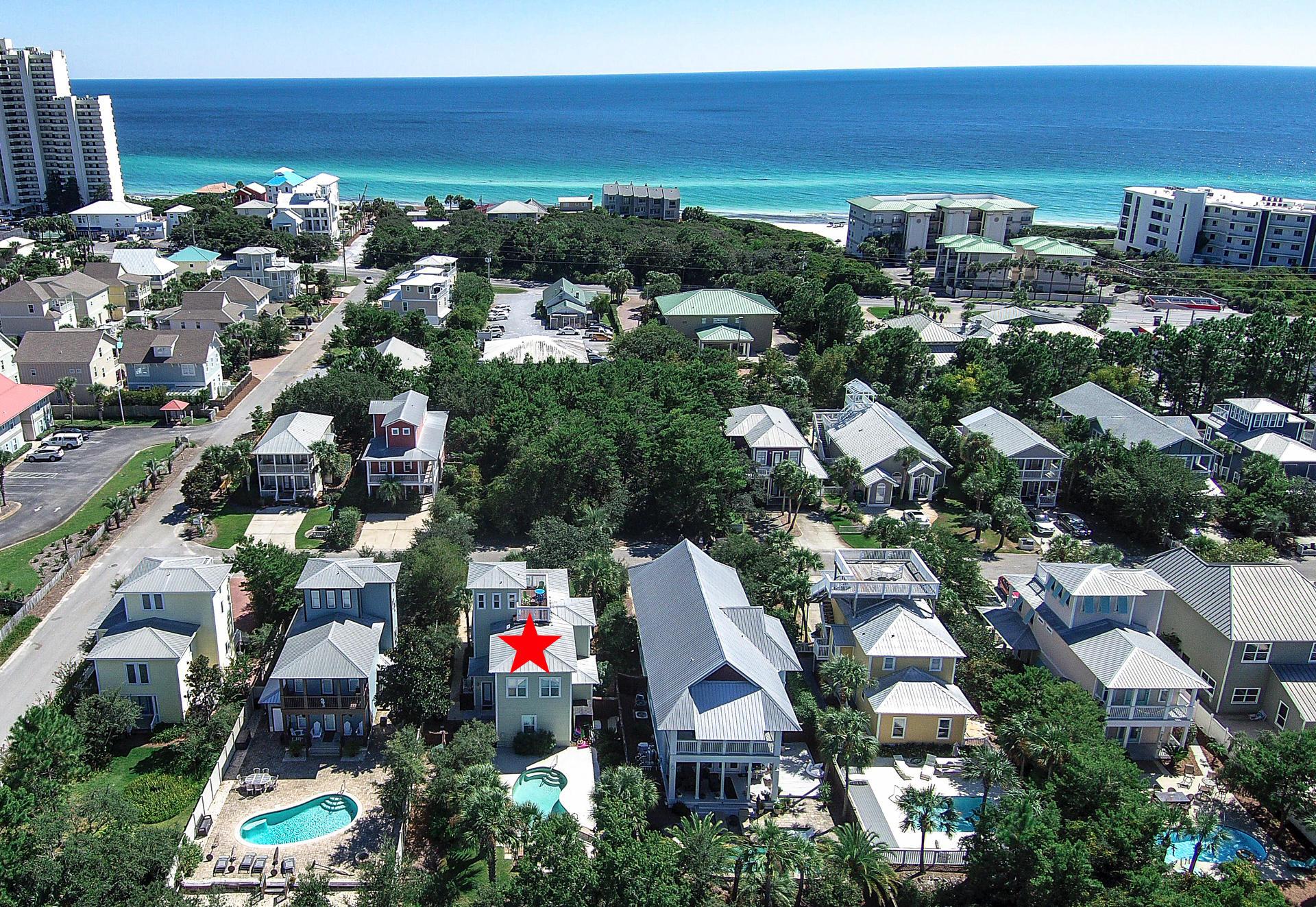 Photo of home for sale at 136 Sugar Sand, Santa Rosa Beach FL