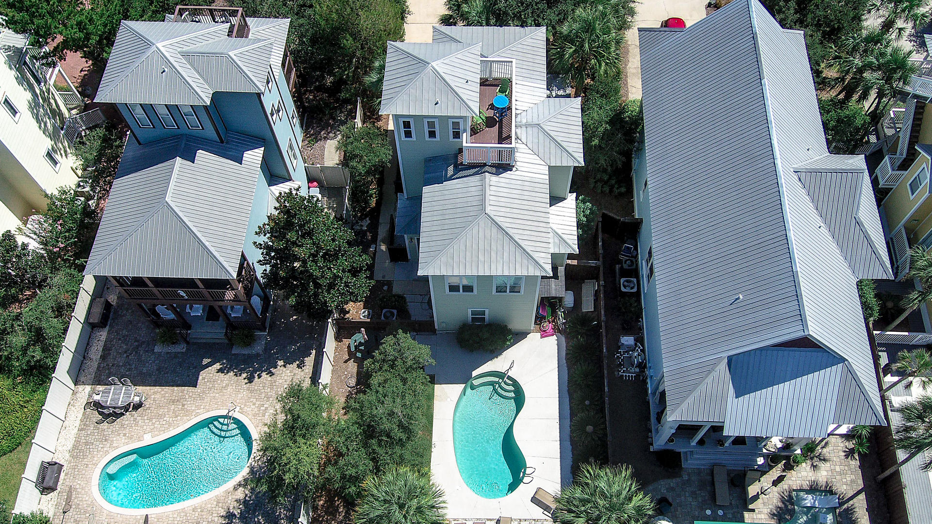 Why wait?  Gulf view home just a short distance to the beach.  Listed at current appraisal value.  Located just north of Hwy. 30A in the very popular Seagrove Beach area.  Well maintained with a private pool on a deep lot.  Home offers a first floor guest bedroom with full bath and laundry area.  The second floor has a large master suite with a private porch and an additional guest bedroom with a private sunroom.  Sunroom currently has bunk beds and sleeps another three.  The third floor is a bonus room with views of the Gulf of Mexico with a sunbather's lounging area.  Being sold mostly furnished at appraisal value.  Ask your Realtor to print out all documents for your review concerning this property.  Large Pet friendly lot.