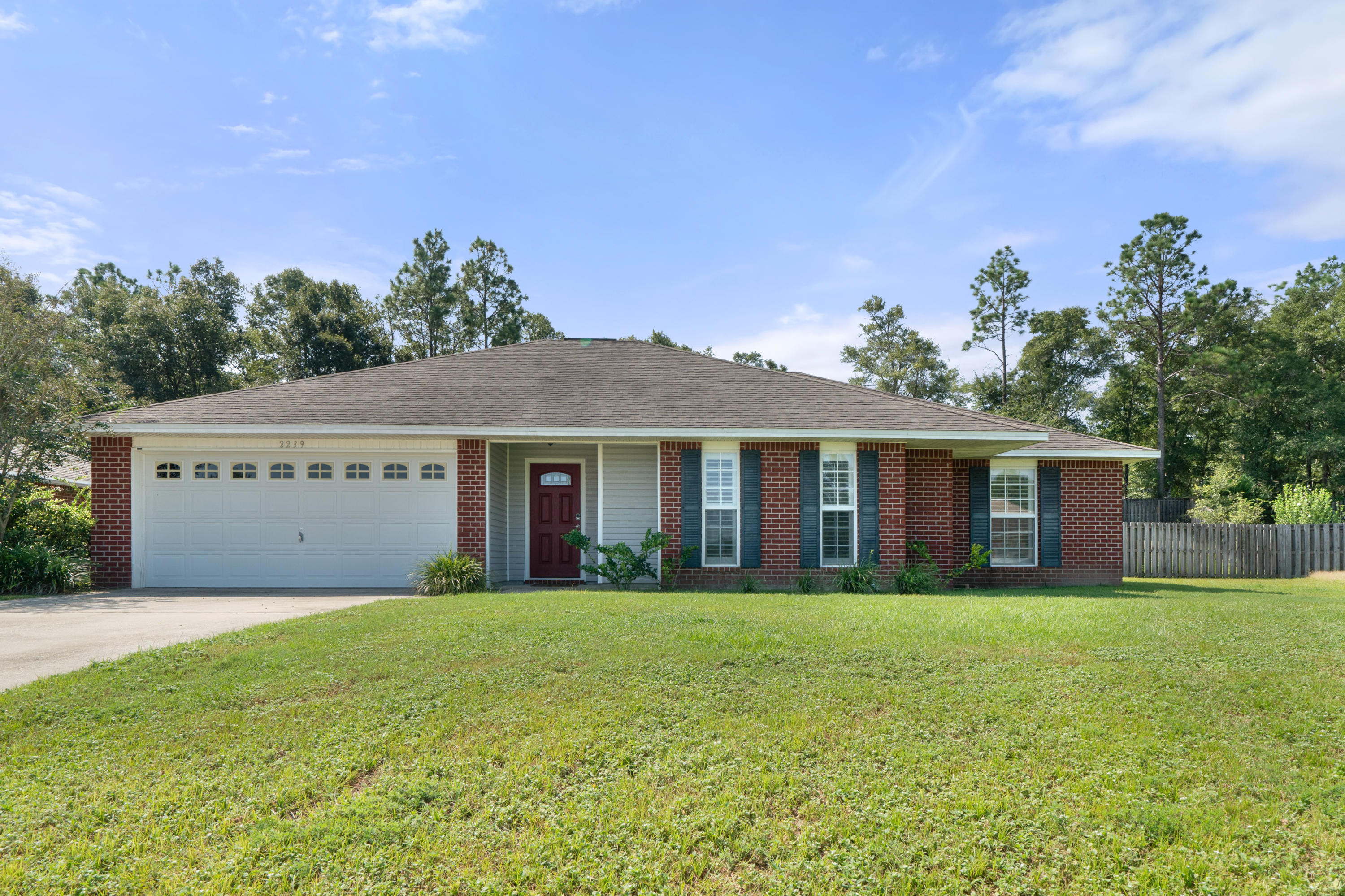 Photo of home for sale at 2239 Lewis, Crestview FL