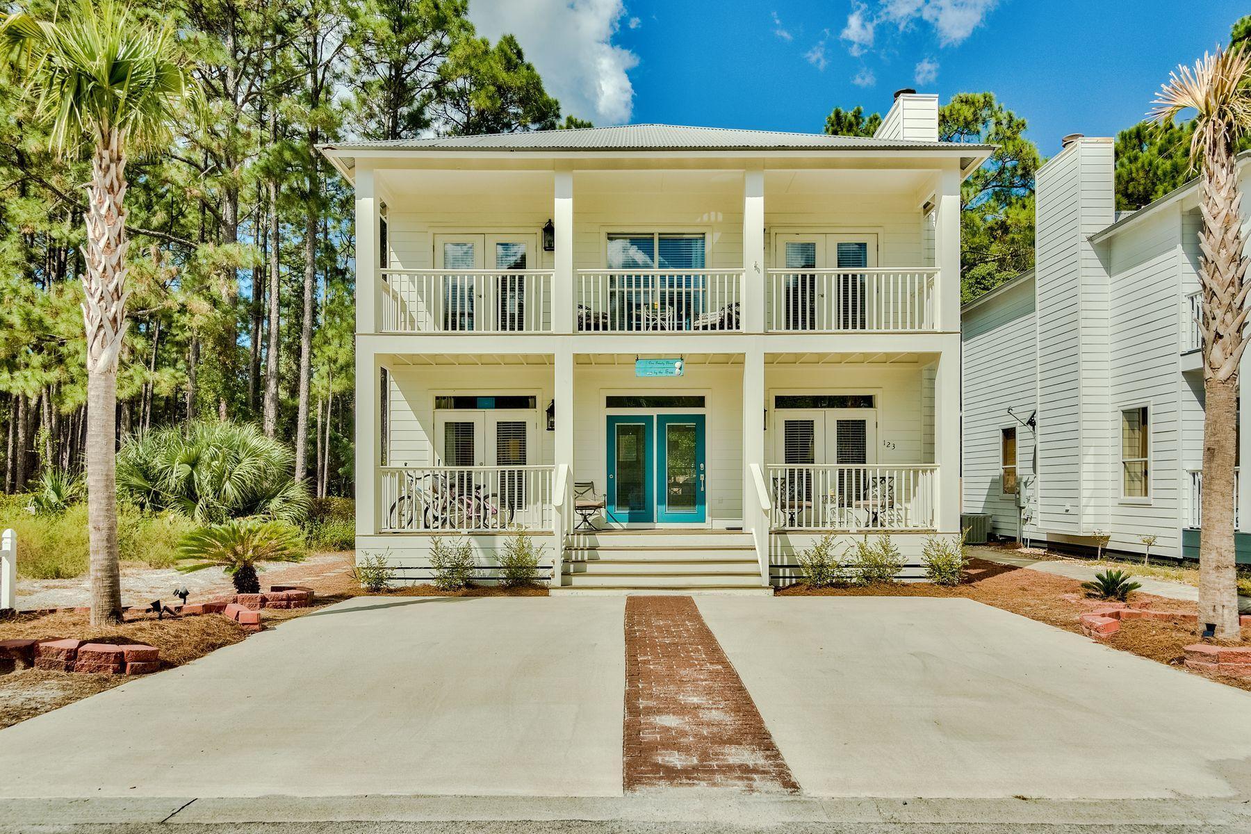 A 3 Bedroom 3 Bedroom Blue Gulf Resort Home
