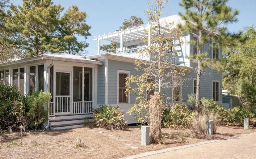Photo of home for sale at 9 Creek Park, Inlet Beach FL