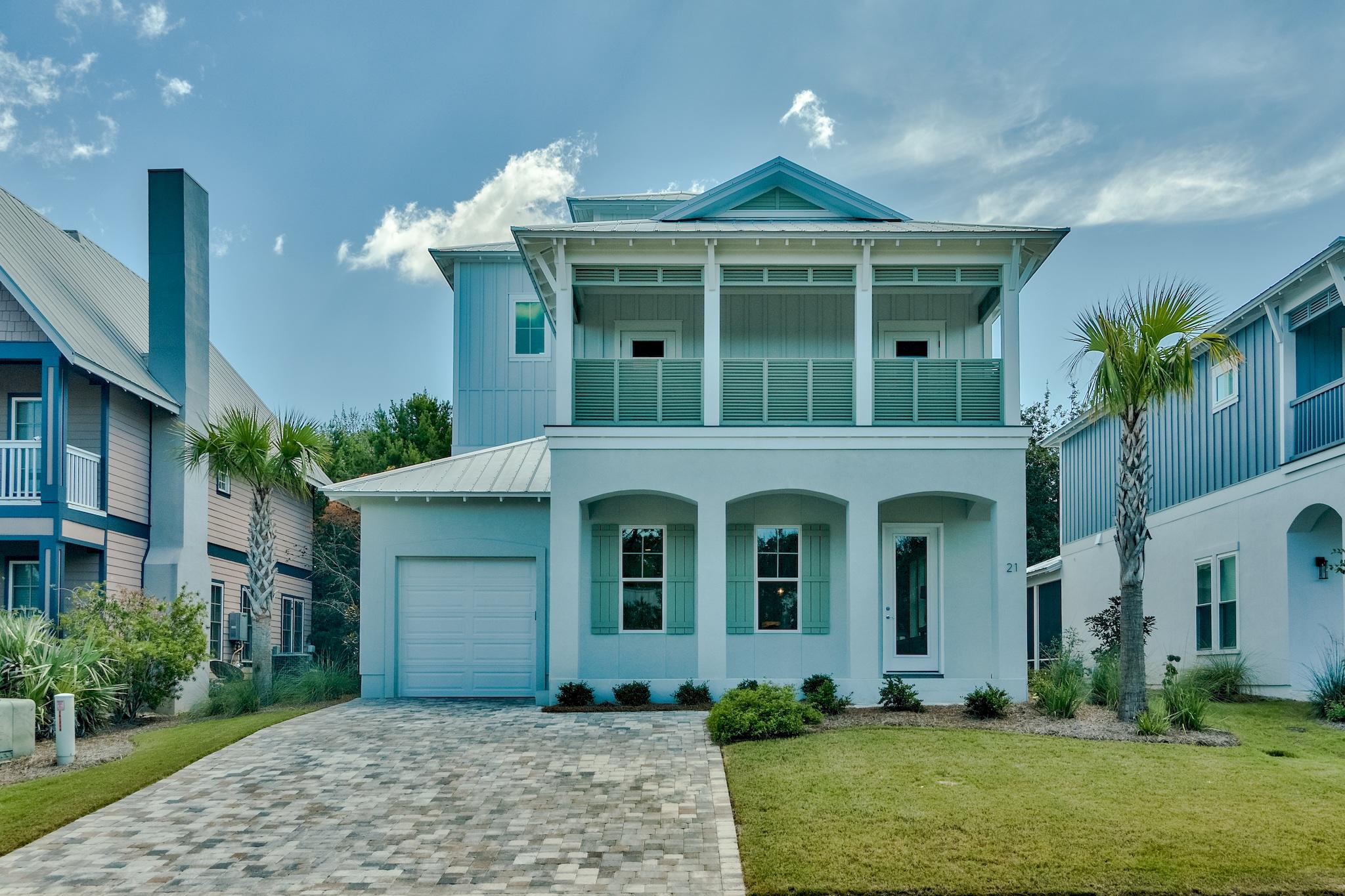 Photo of home for sale at 21 Willow Mist, Inlet Beach FL