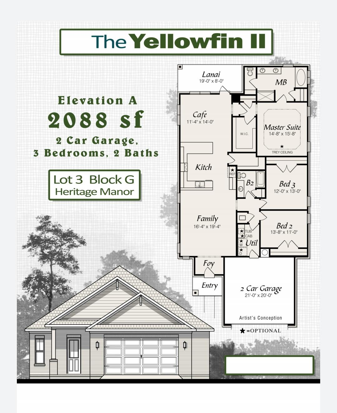 Photo of home for sale at 155 Creve Core, Crestview FL
