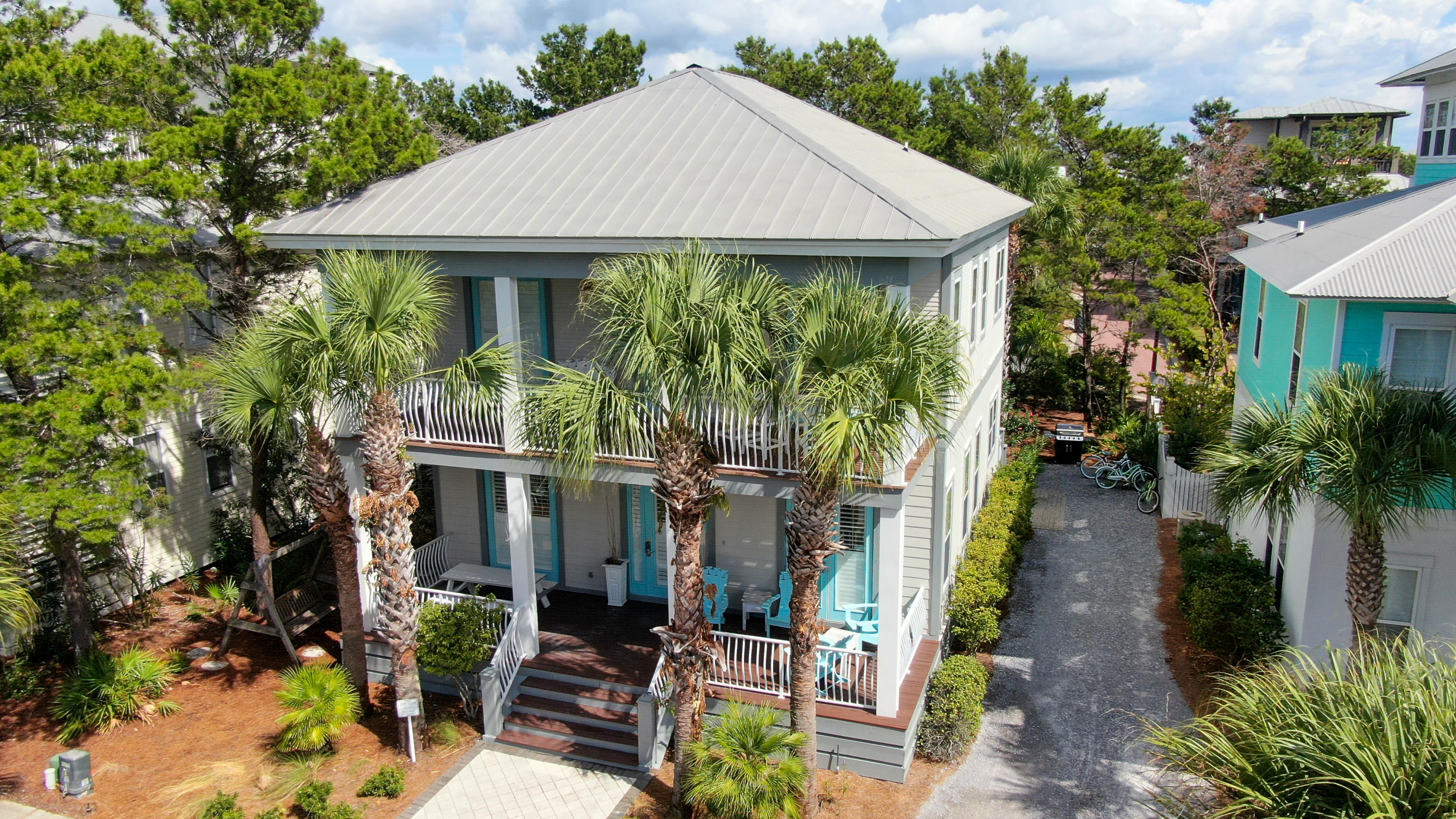 Photo of home for sale at 48 Beach Bike, Inlet Beach FL
