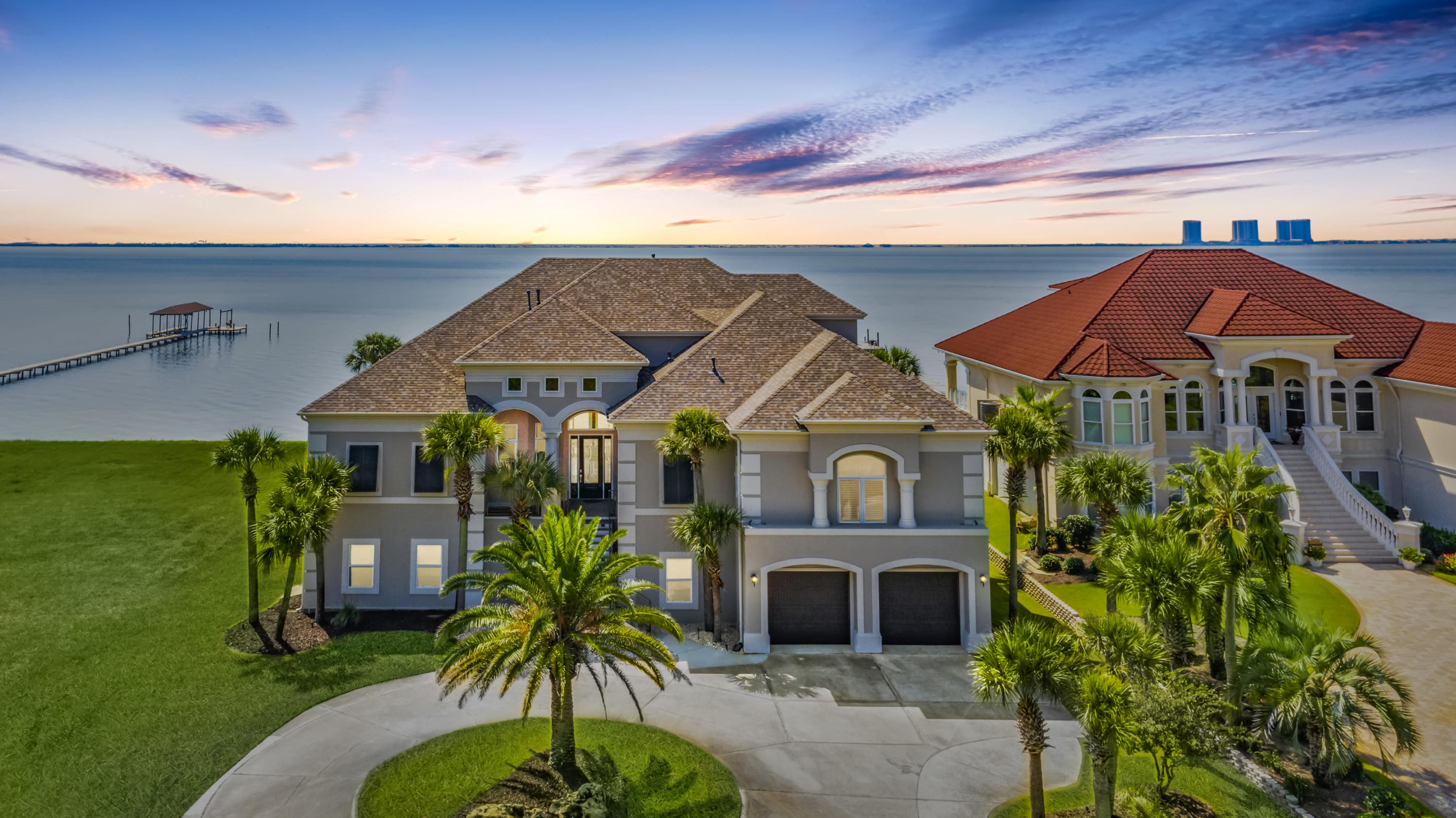 Photo of home for sale at 3935 Madura, Tiger Point FL