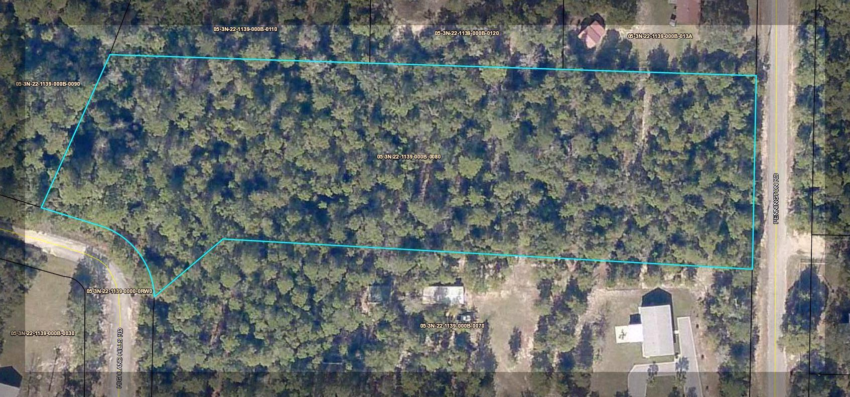 Photo of home for sale at xxxx Highland Hills Road, Crestview FL