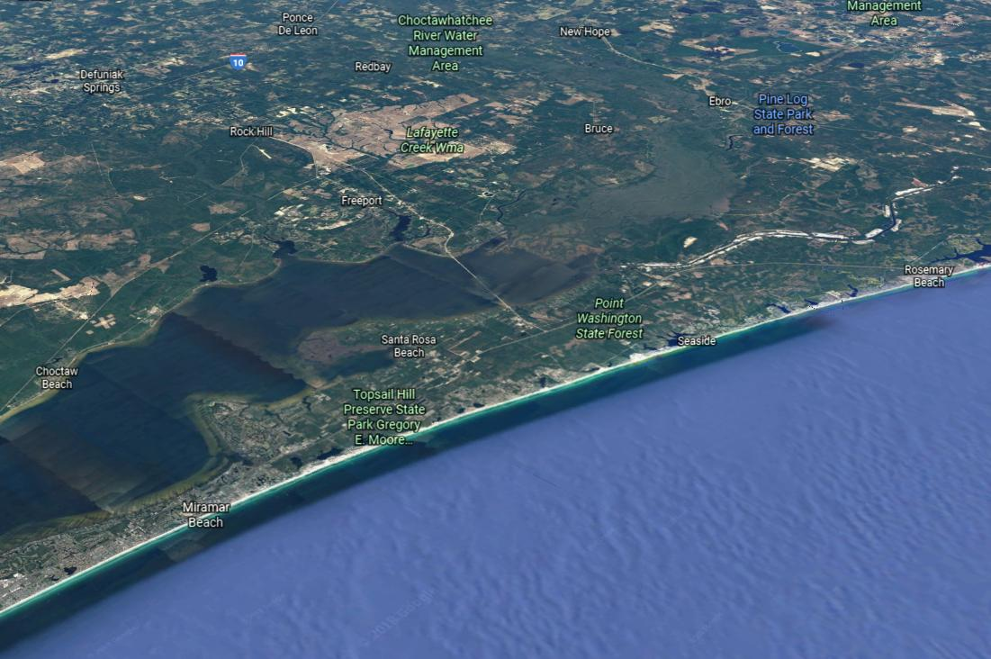Photo of home for sale at XXX 11th Street, Santa Rosa Beach FL